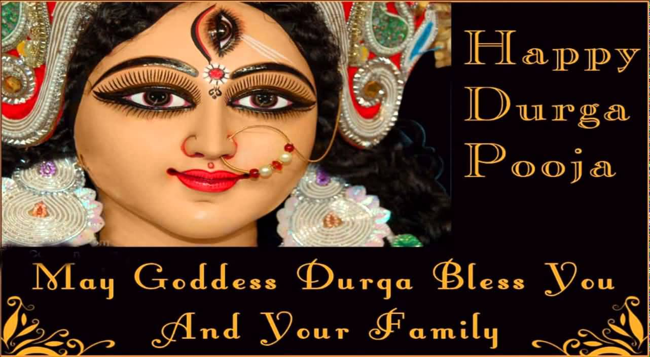 55 Beautiful Greeting Pictures And Photos Of Durga Puja 2016