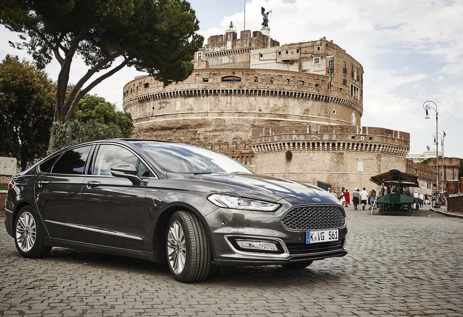 Ford Mondeo Vignale cars sedan 2015 wallpapers