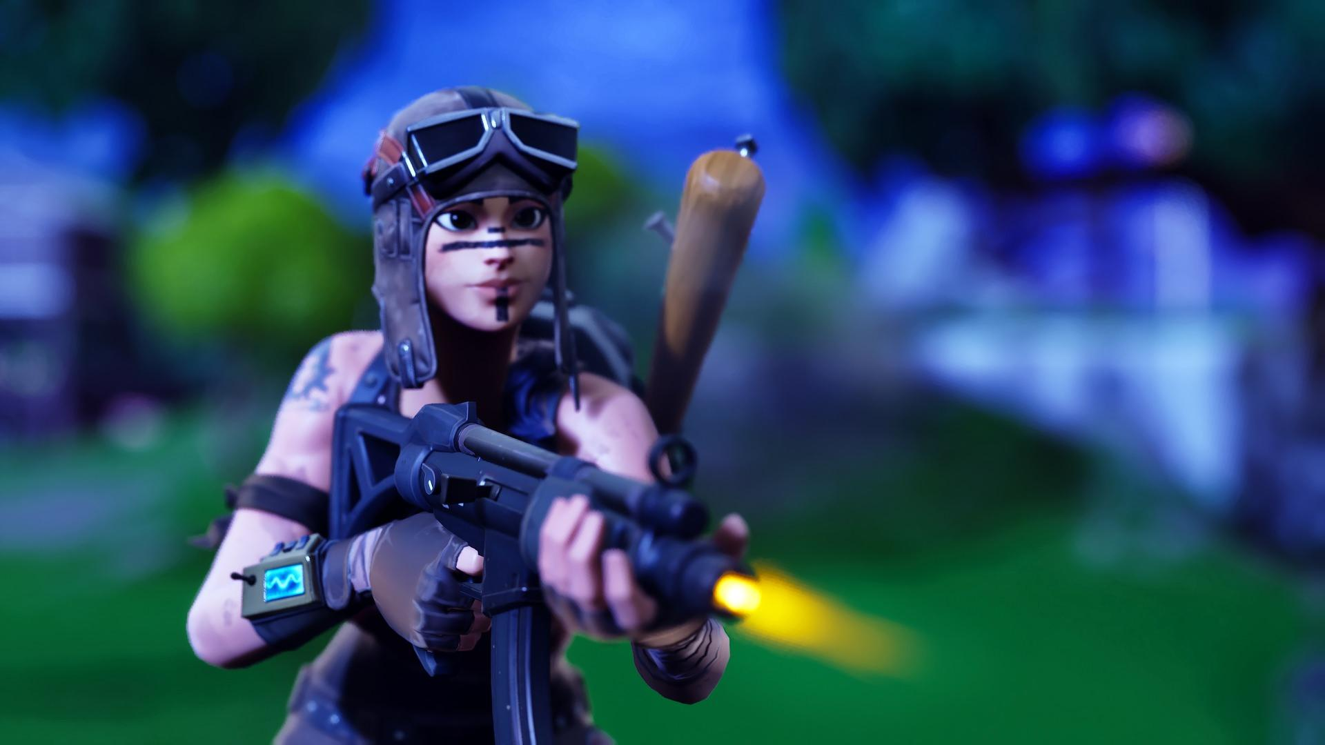 Renegade Raider Fortnite Battle Royale Game HD 1920x1080