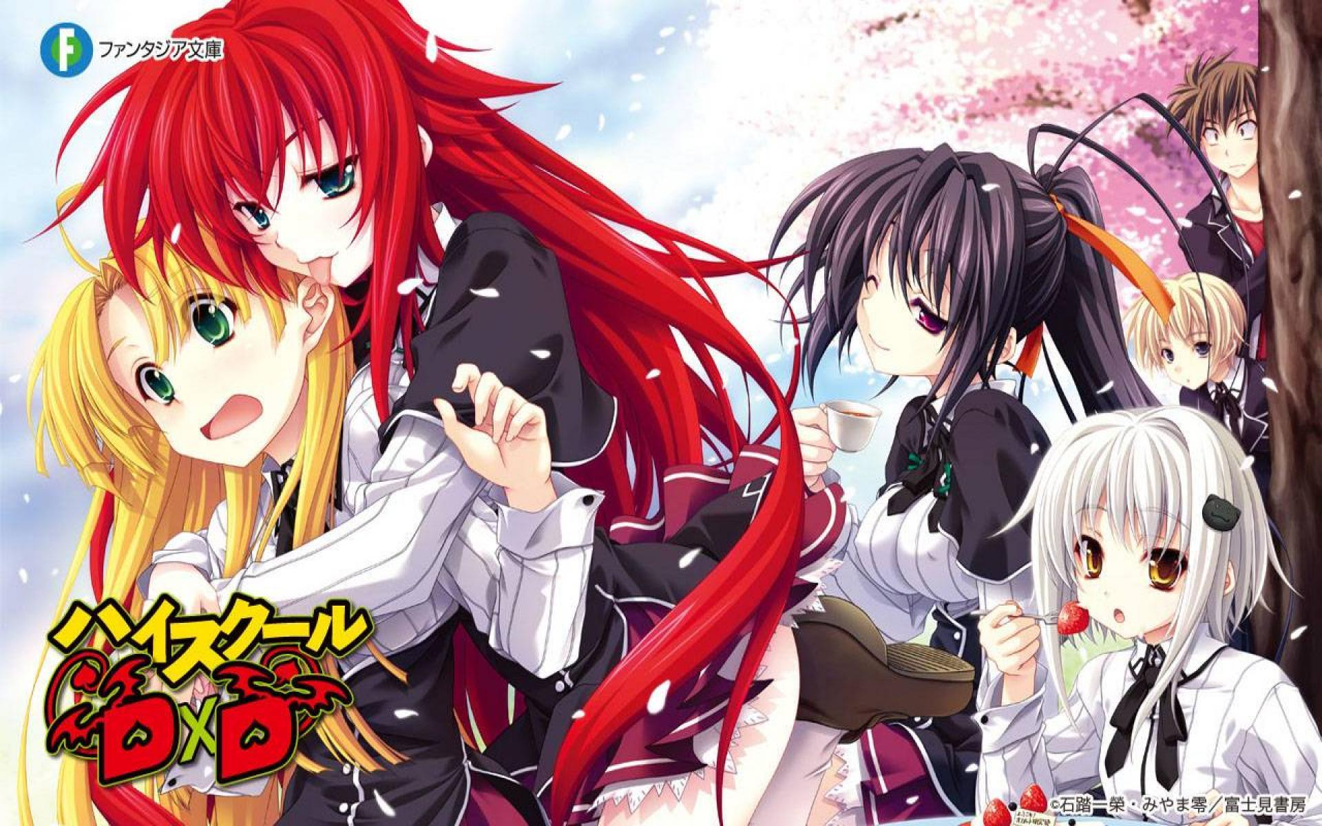 Highschool Dxd Wallpapers 0.17 Mb