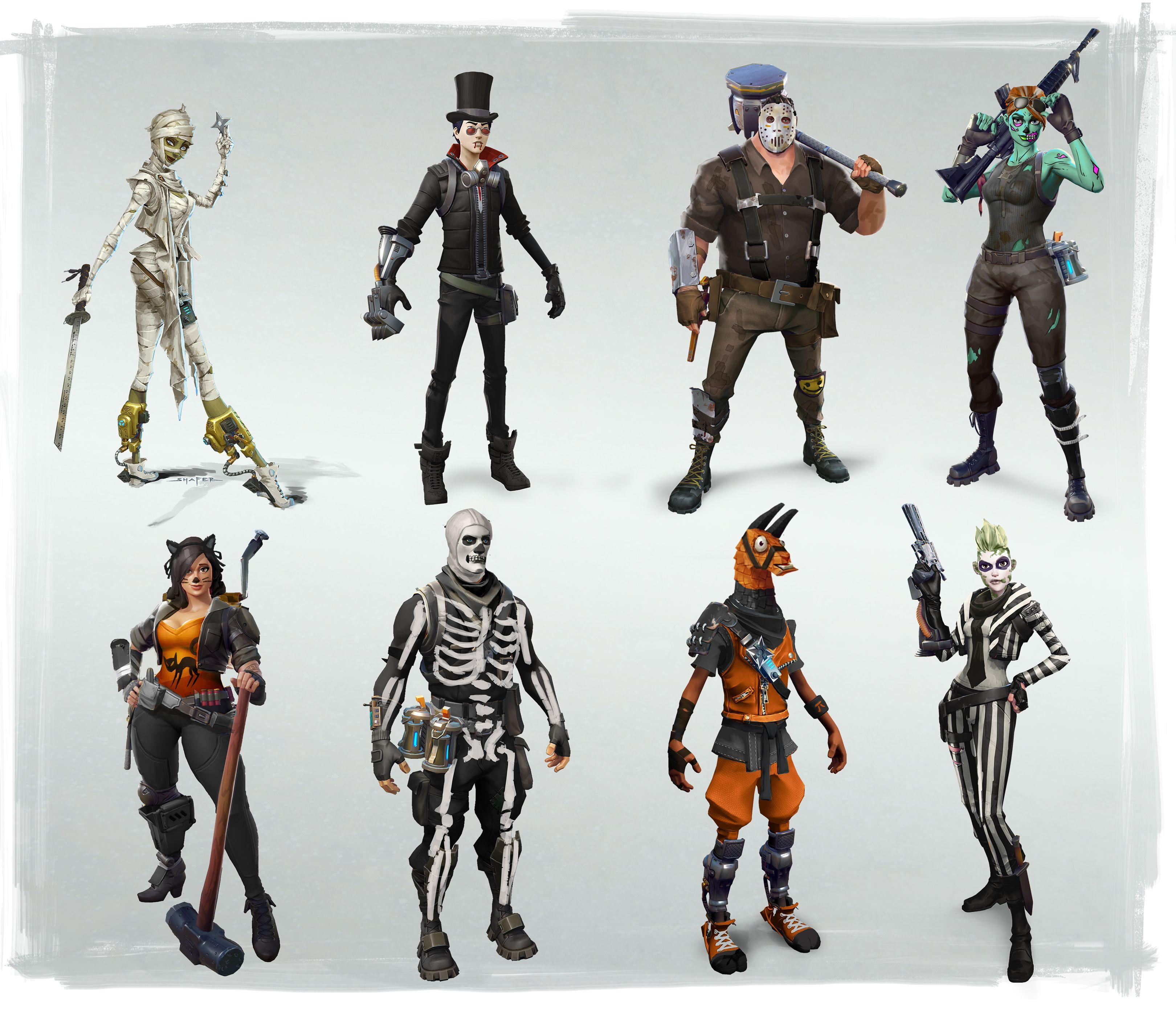 Pictures of Fortnitemares Halloween event arrives to Fortnite 1/1