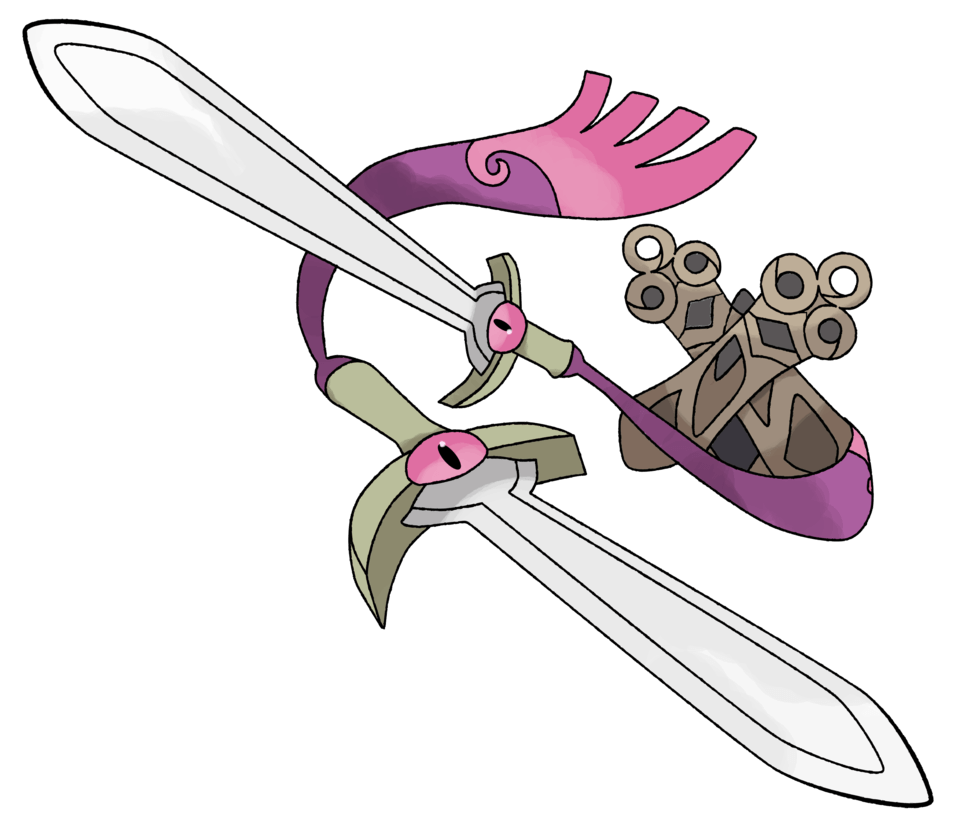 Doublade by TheAngryAron