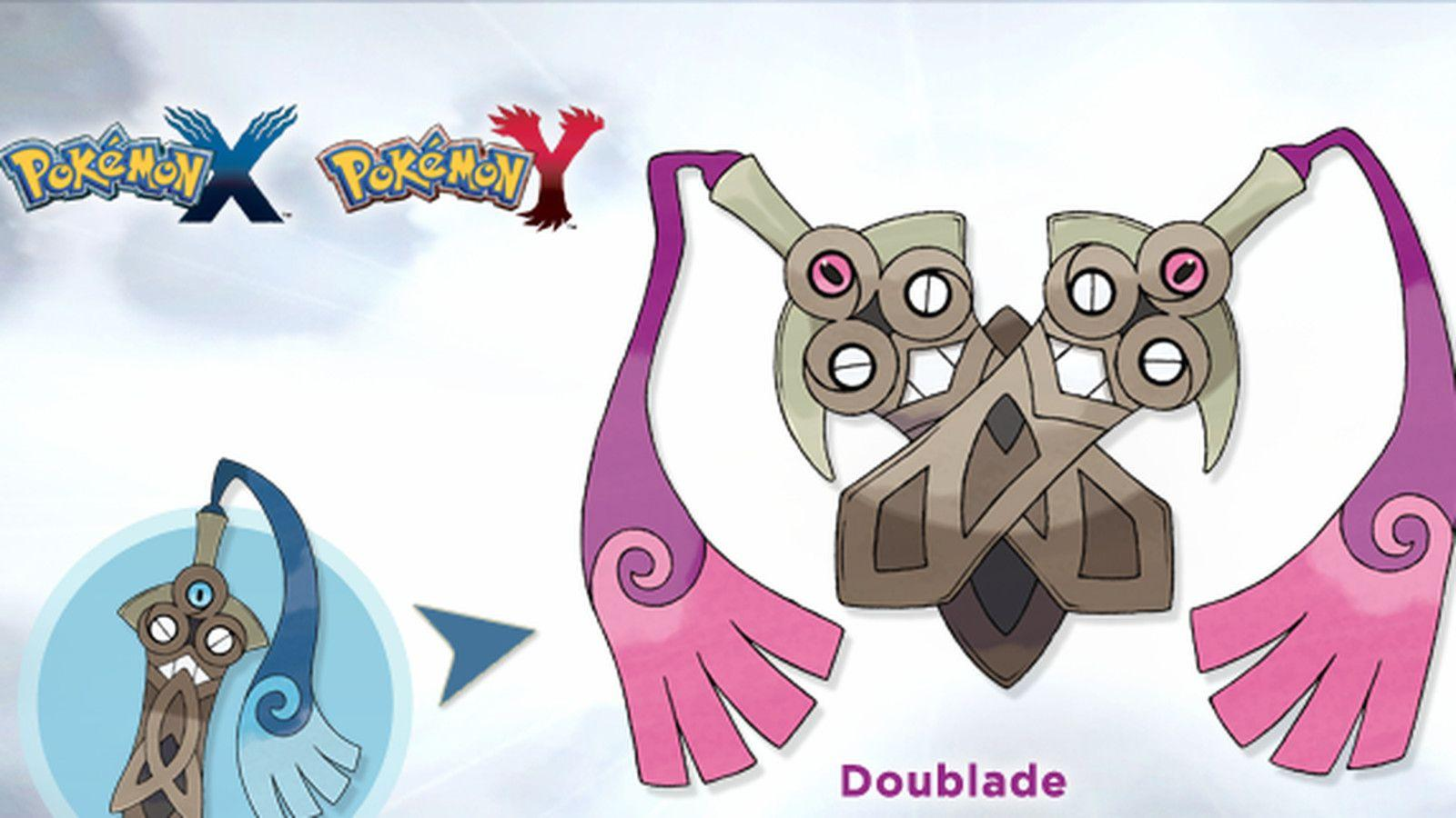 Pokemon X and Y's newest evolution is a double