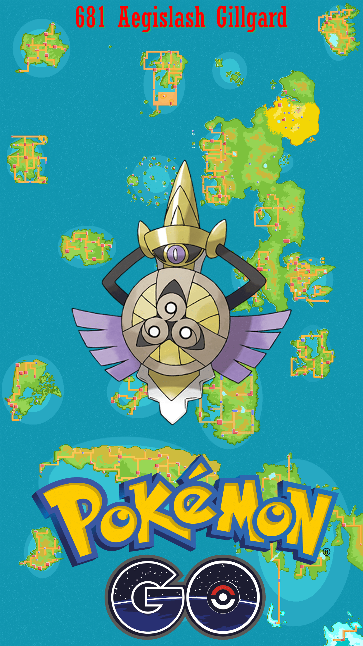681 Street Map Aegislash Gillgard
