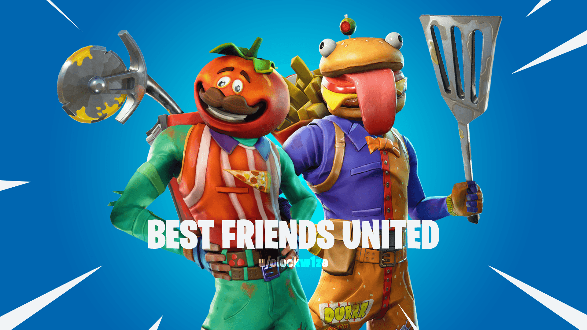 Best Friends United: Tomatohead and Beefboss. : FortNiteBR