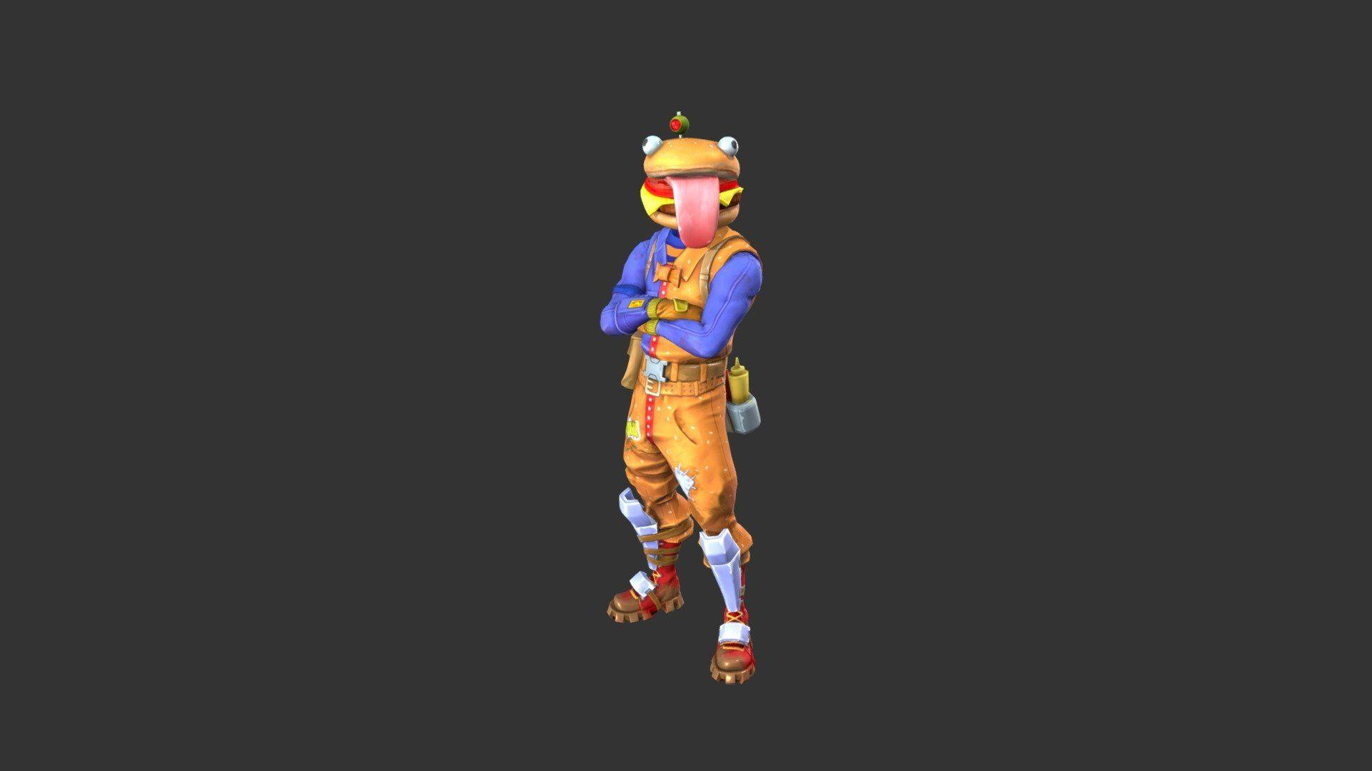 Beef Boss Outfit - 3D model by Fortnite Skins (@fortniteskins ...