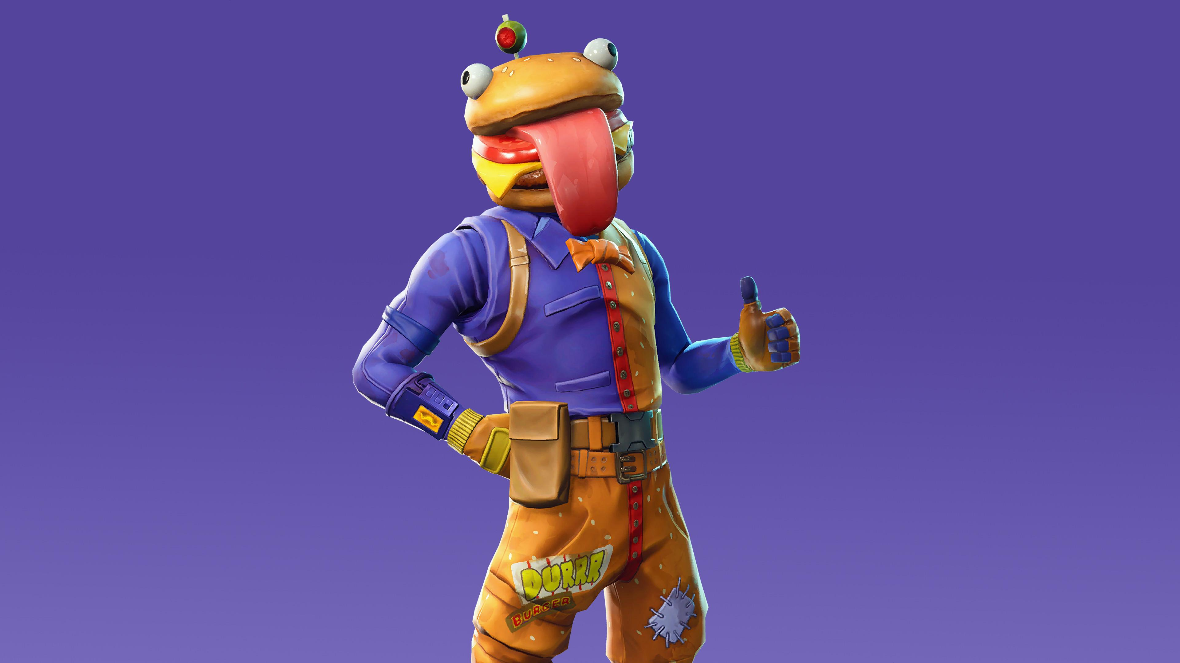 Beef Boss 4K 8K HD Fortnite Battle Royale Wallpaper