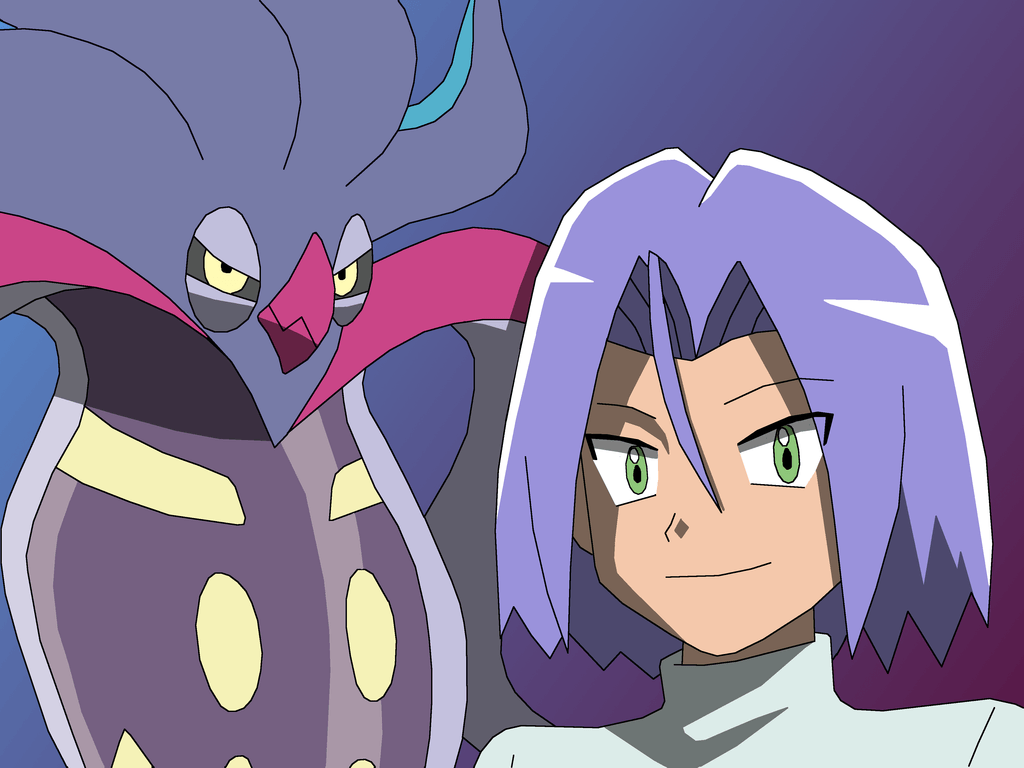 James and his evolved Malamar by PokemonXYLover1998 on DeviantArt