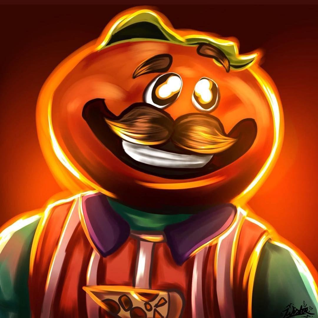 Awesome tomato head fan art! Credit: zwqst_artz (twitter) #fortnite ...