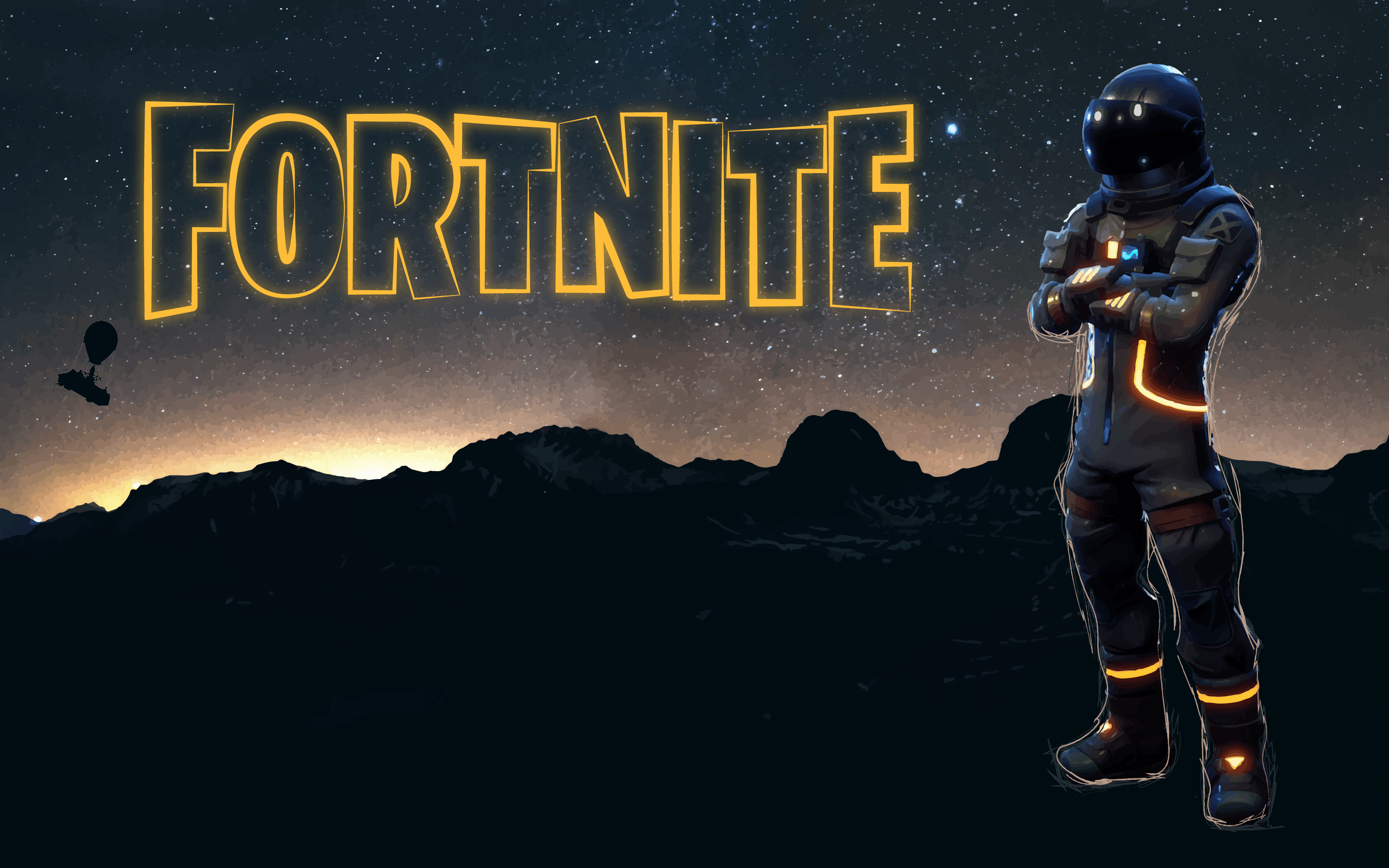 Fortnite Dark Voyager Wallpapers 1 - 2880 X 1800 | Imgnooz.com