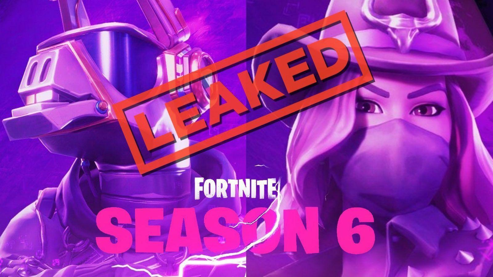 Fortnite Pets Season 6 Logo Wallpaper Fortnite Season 6 Six Leak ...