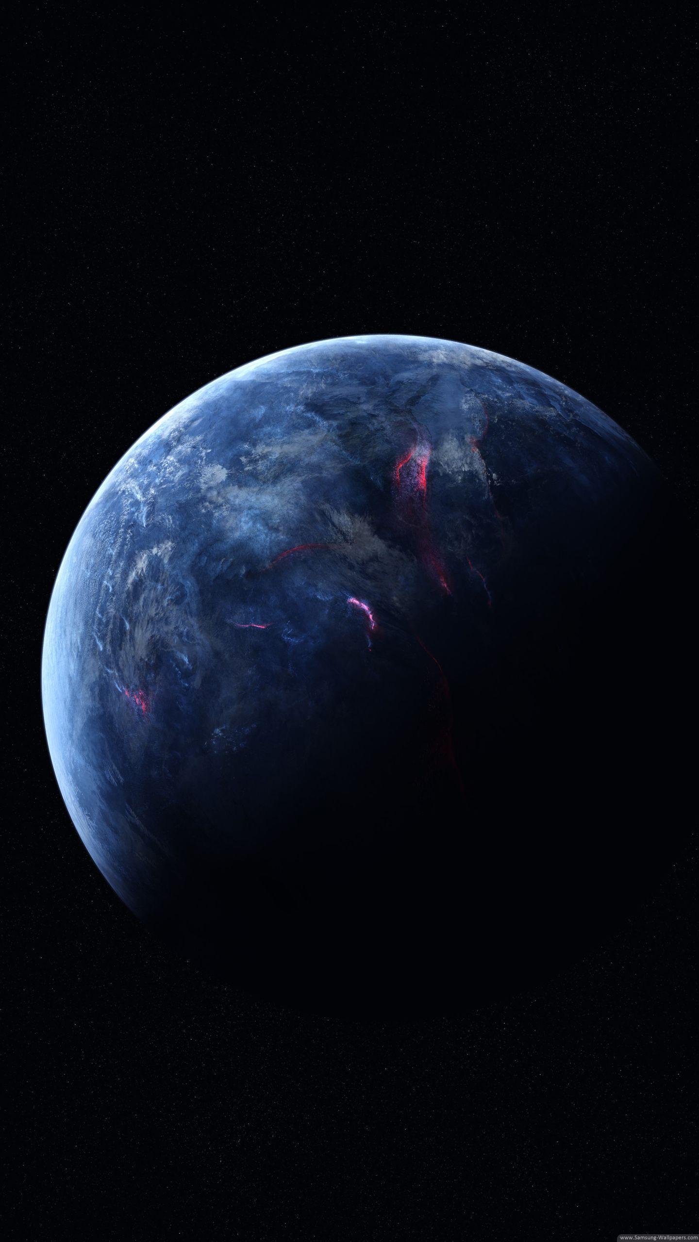 Earth Background Stock 1440x2560 Samsung Galaxy S6 Edge Wallpaper
