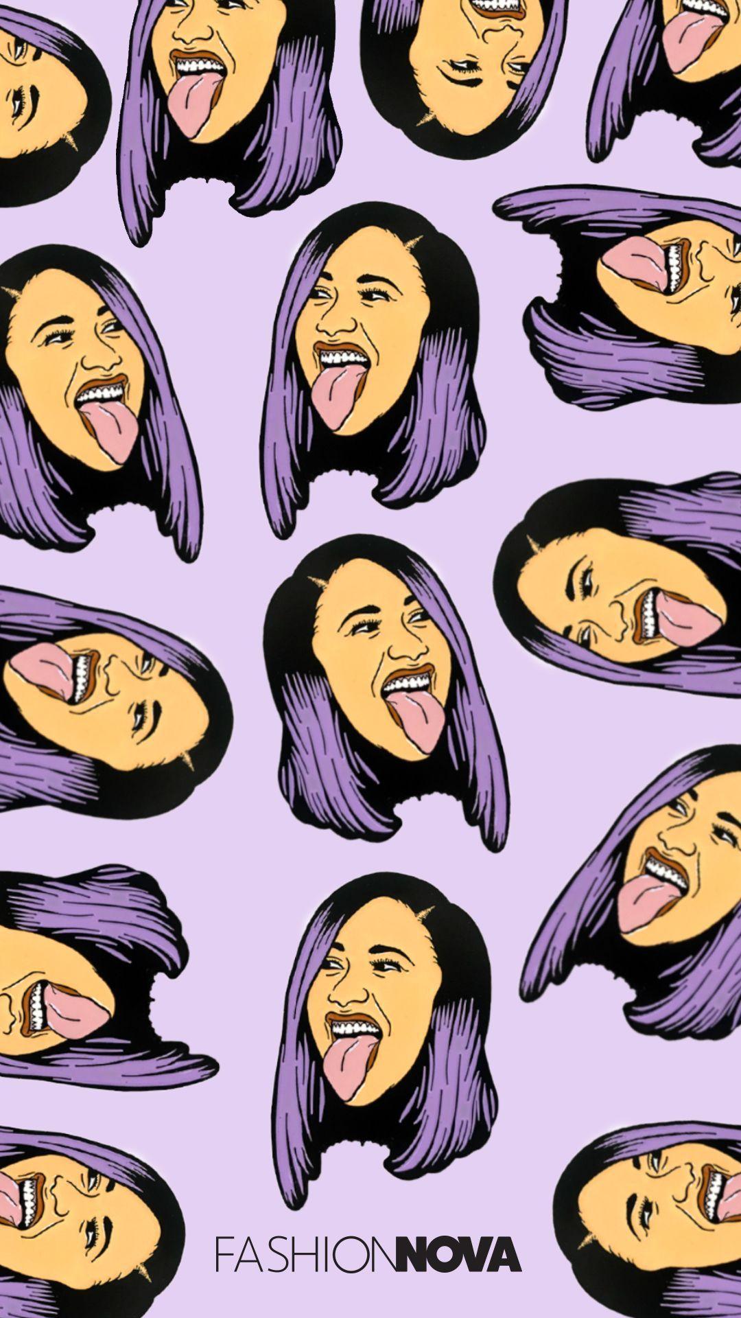 Cardi B Cartoon: Cardi B Cartoon Wallpapers