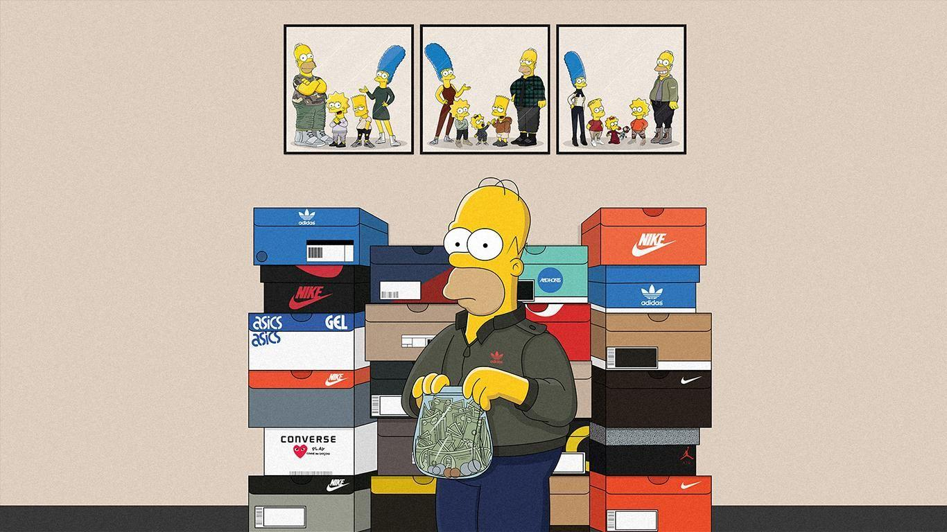 Fondos De Pantalla Supreme: Simpson Supreme Wallpapers