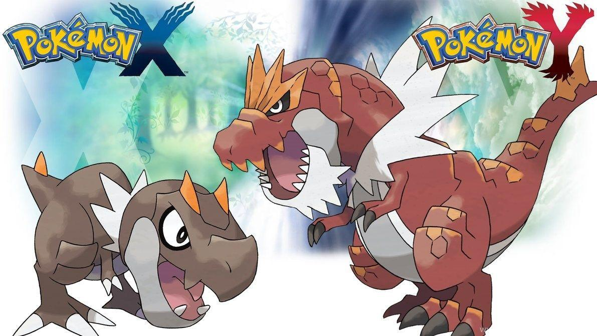 Pokemon X Y Wallpapers Tyrunt And Tyrantrum By Thelimomon On