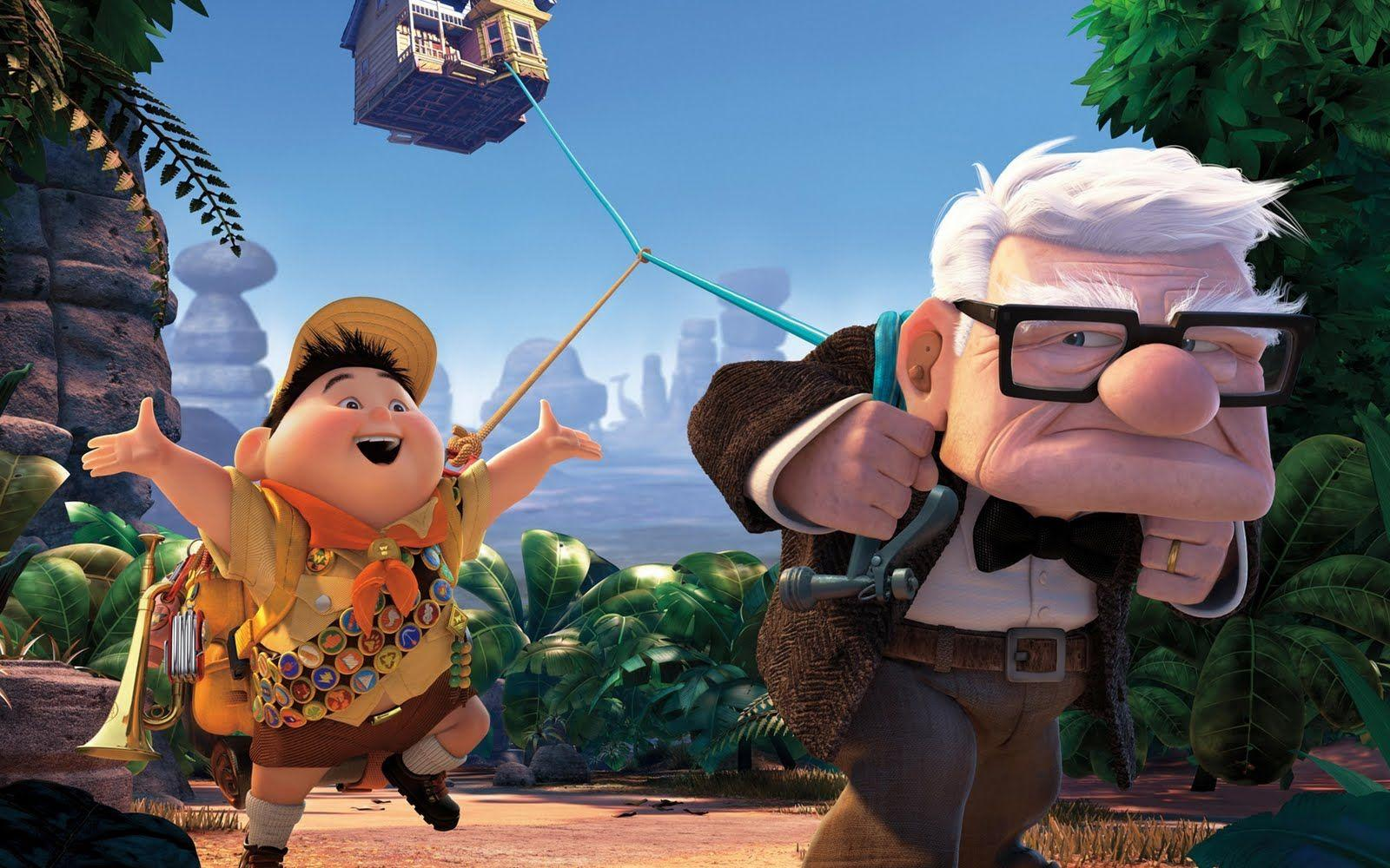 Central Wallpaper: Up Pixar Animation HD Wallpapers