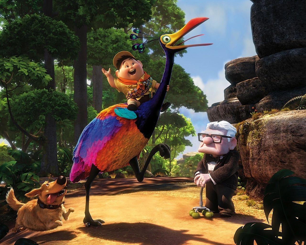 Pixar's UP Animation Movie Wallpapers in jpg format for free download