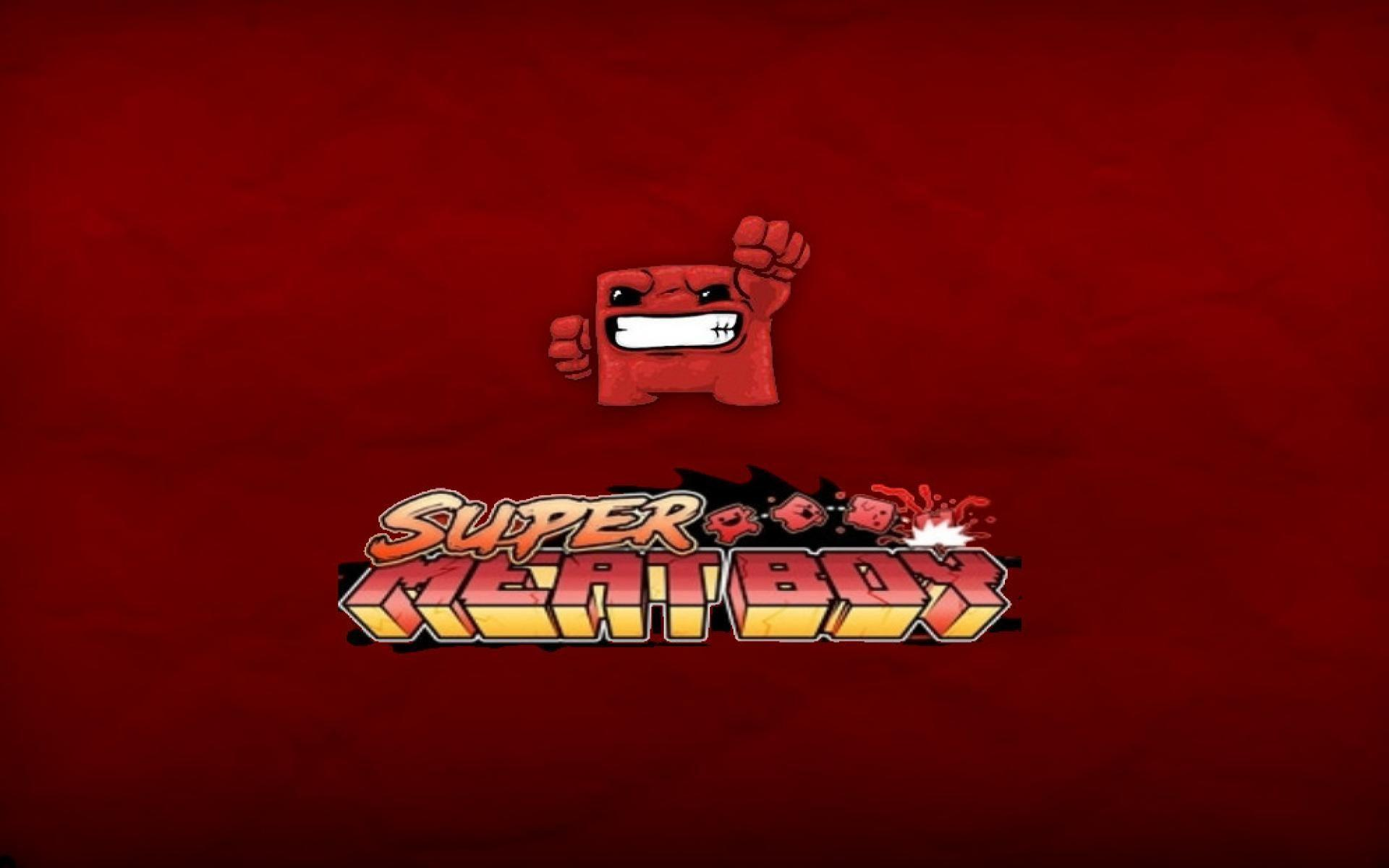 Super Meat Boy Wallpapers Wallpaper Cave
