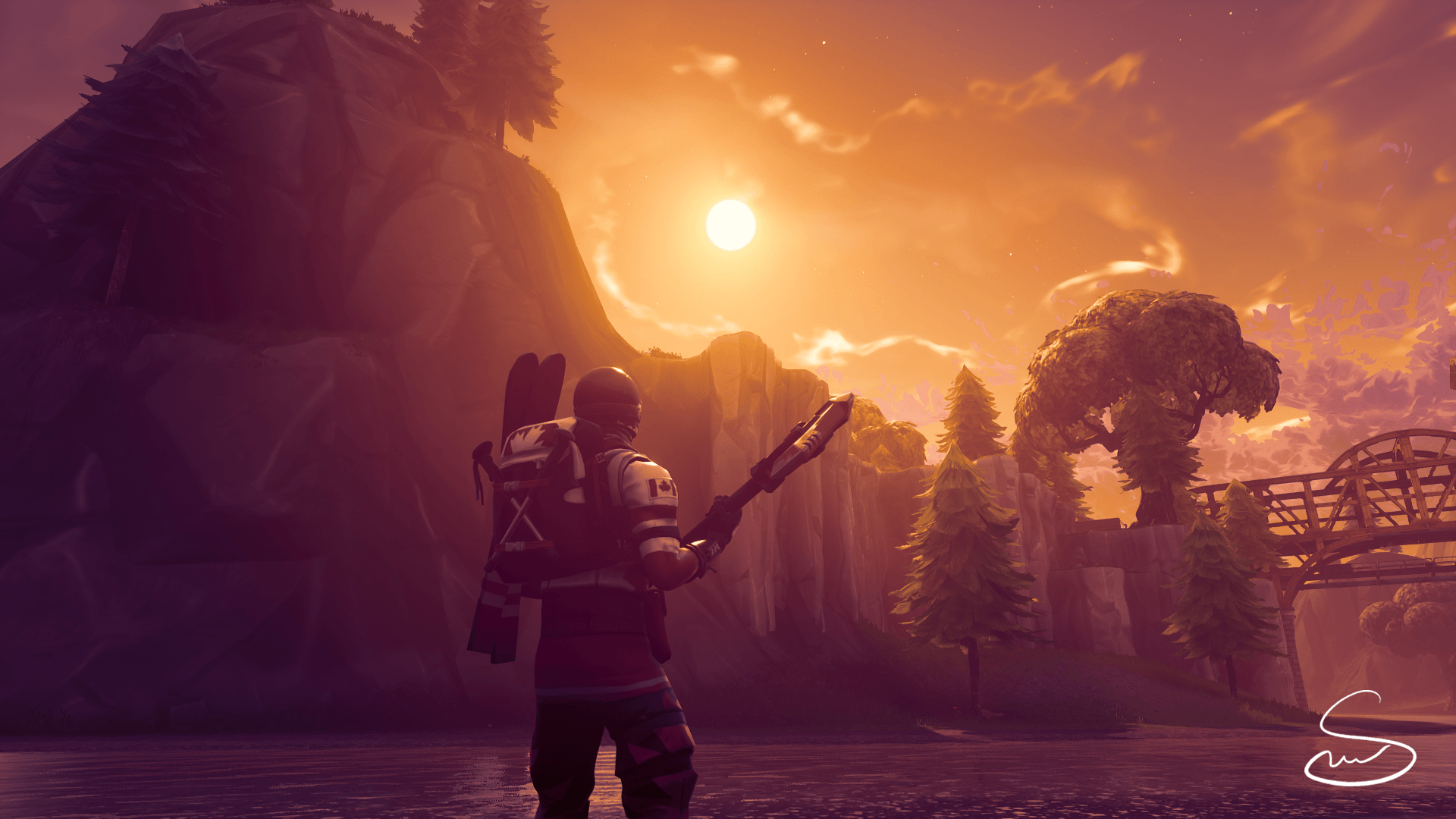 Here's another wallpapers for you guys :) : FortNiteBR
