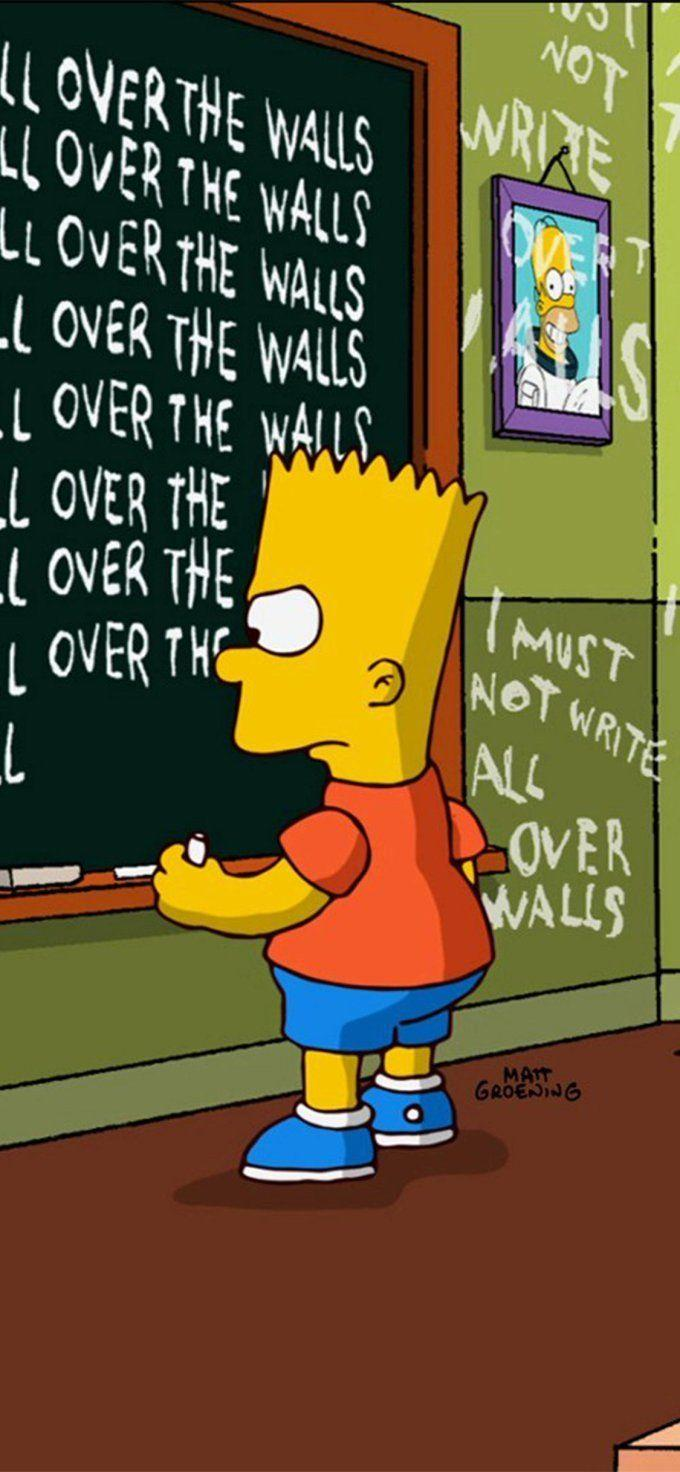 Sad Bart Simpson Wallpapers Wallpaper Cave