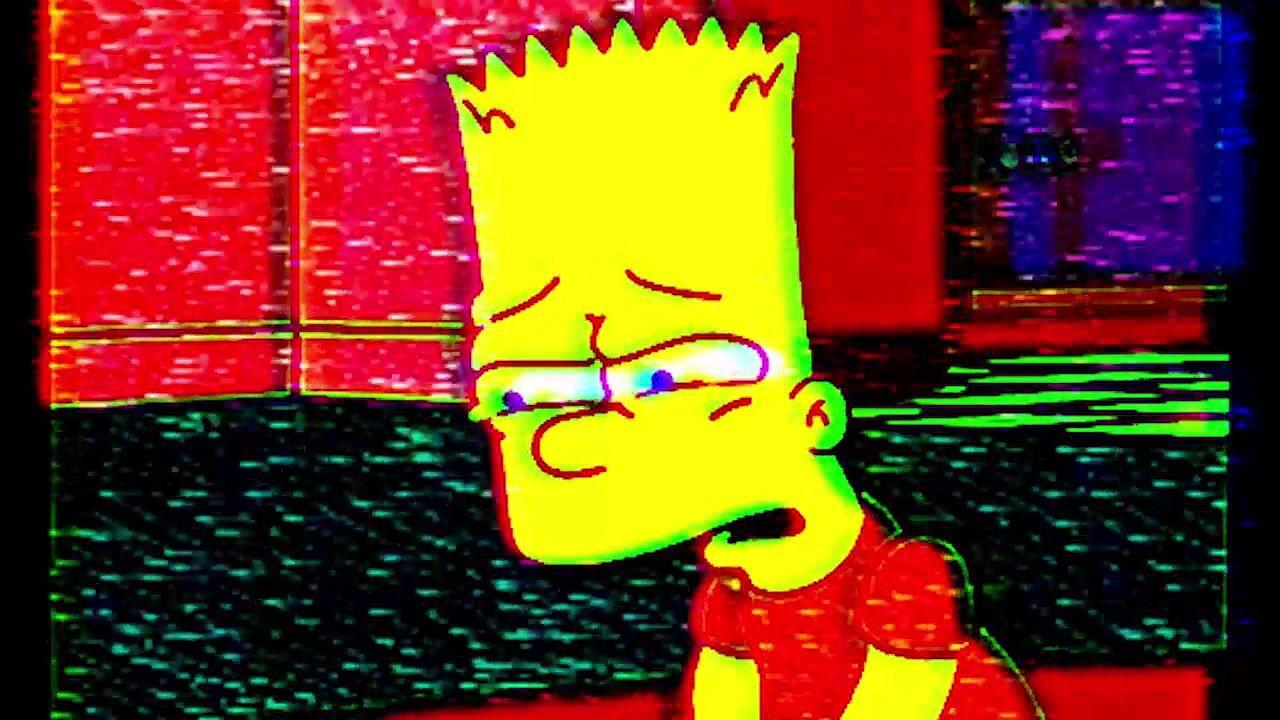 Sad Bart Simpson Wallpapers Wallpaper Cave