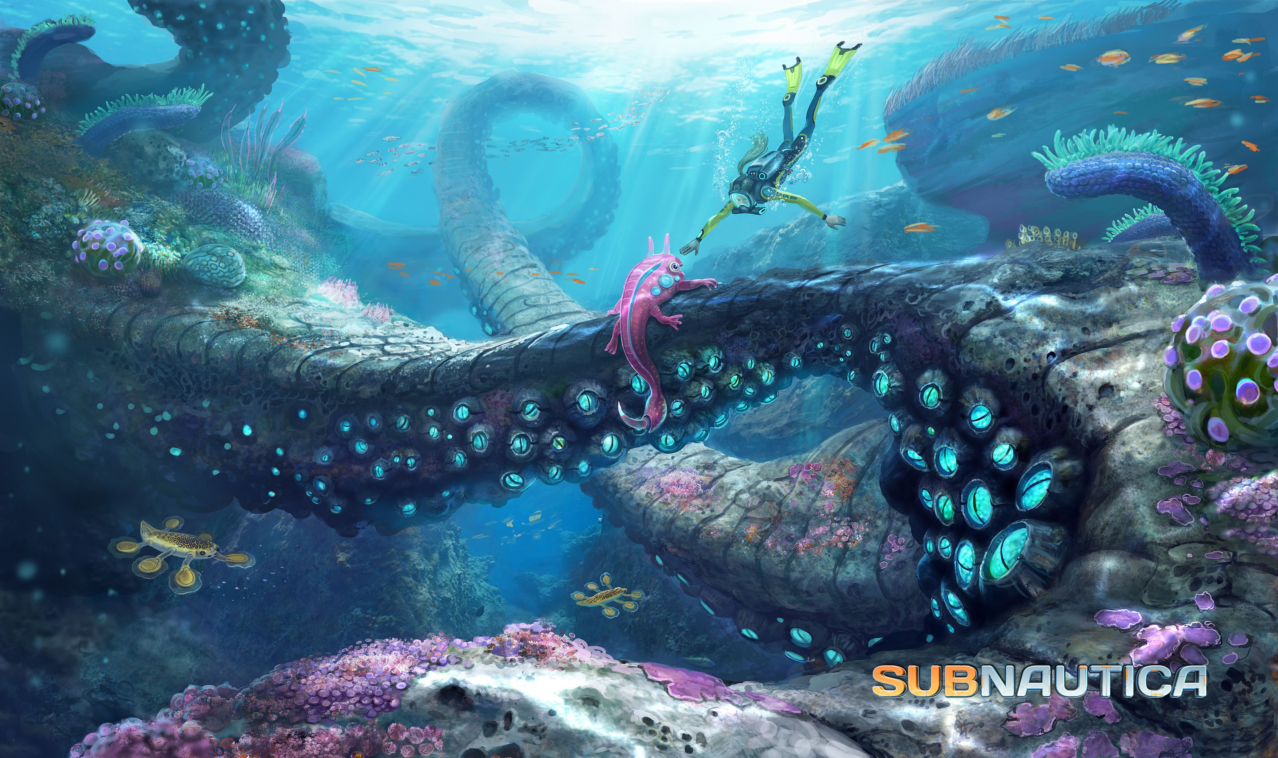 46 Subnautica HD Wallpapers