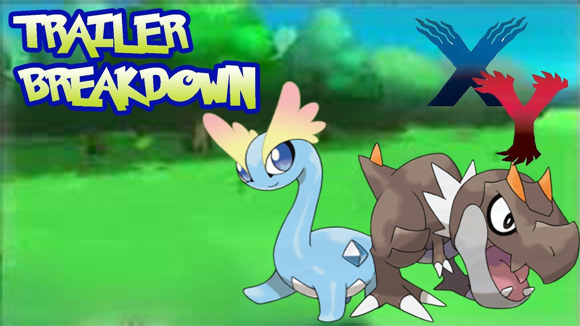 Pokemon X and Y Trailer Breakdown: New Fossil Pokemon