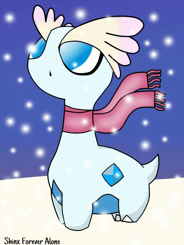 ❄Shiny Amaura On The Snow❄ 2.0