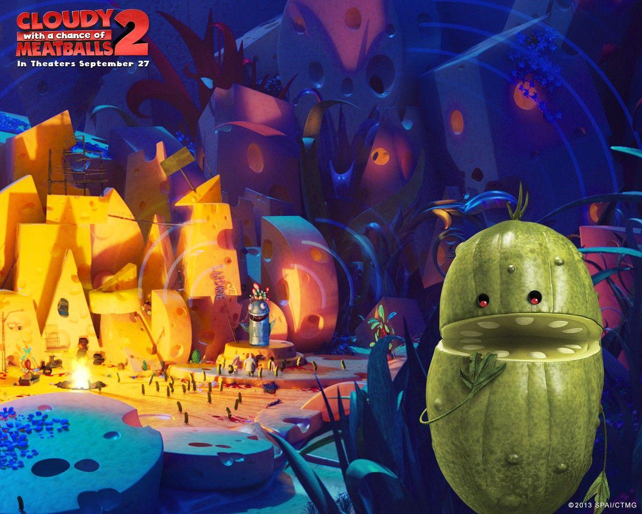Cloudy With A Chance Of Meatballs 2 Wallpapers 4
