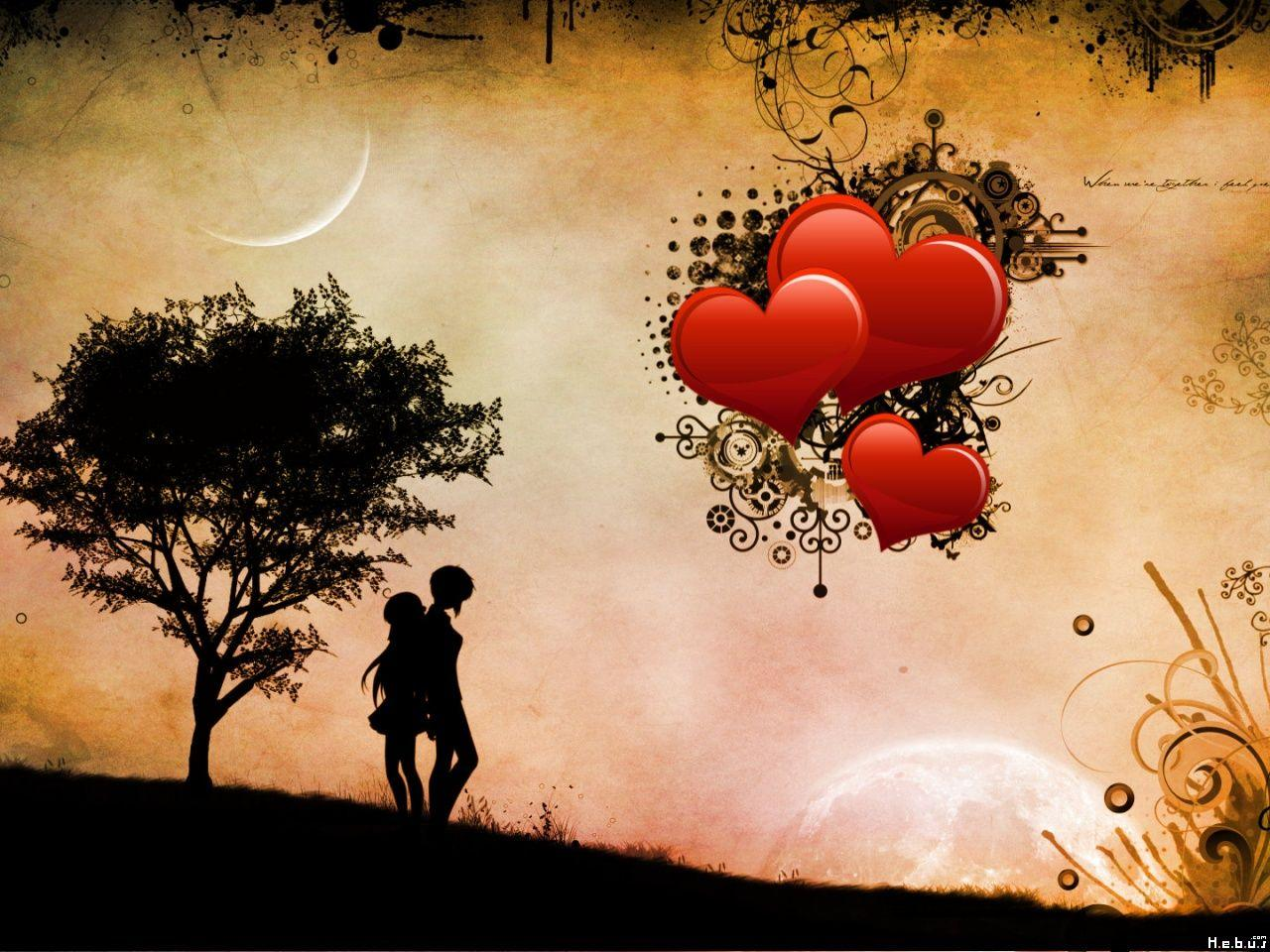 LOVE COUPLE WALLPAPERS FREE DOWNLOAD