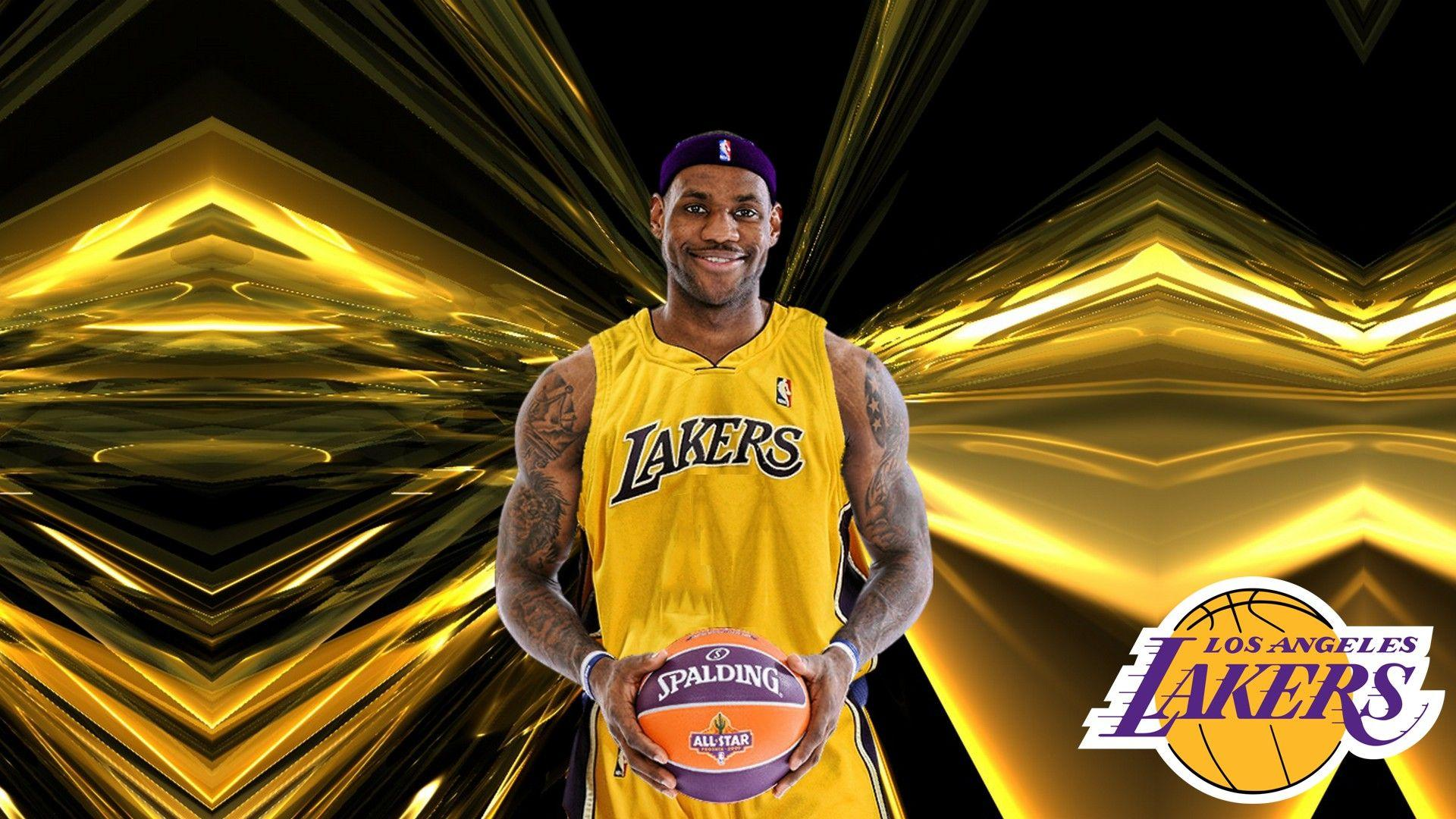 Lebron James Angeles Lakers Wallpapers - Wallpaper Cave