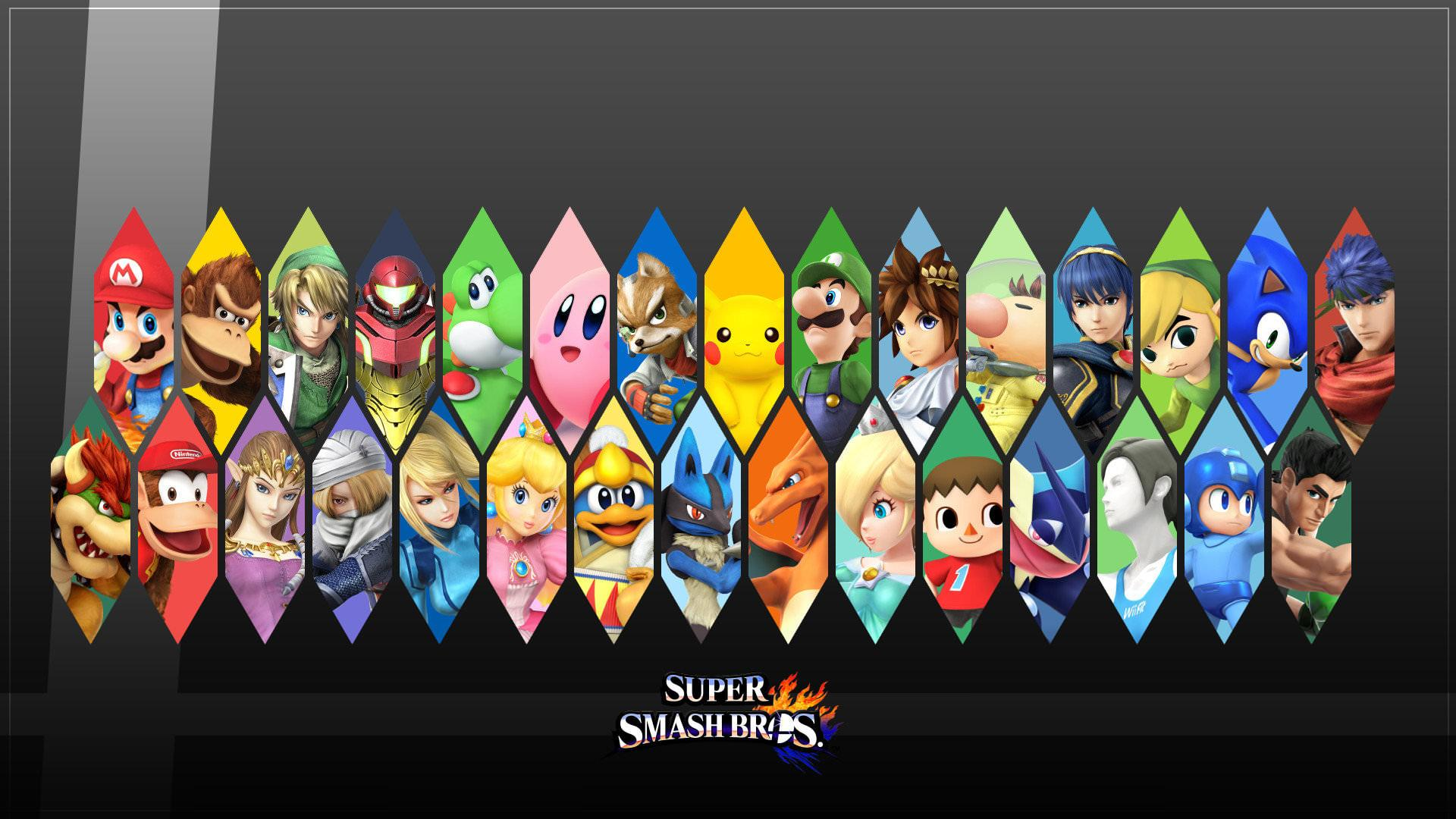 Super Smash Bros Ultimate Hd Wallpapers Wallpaper Cave