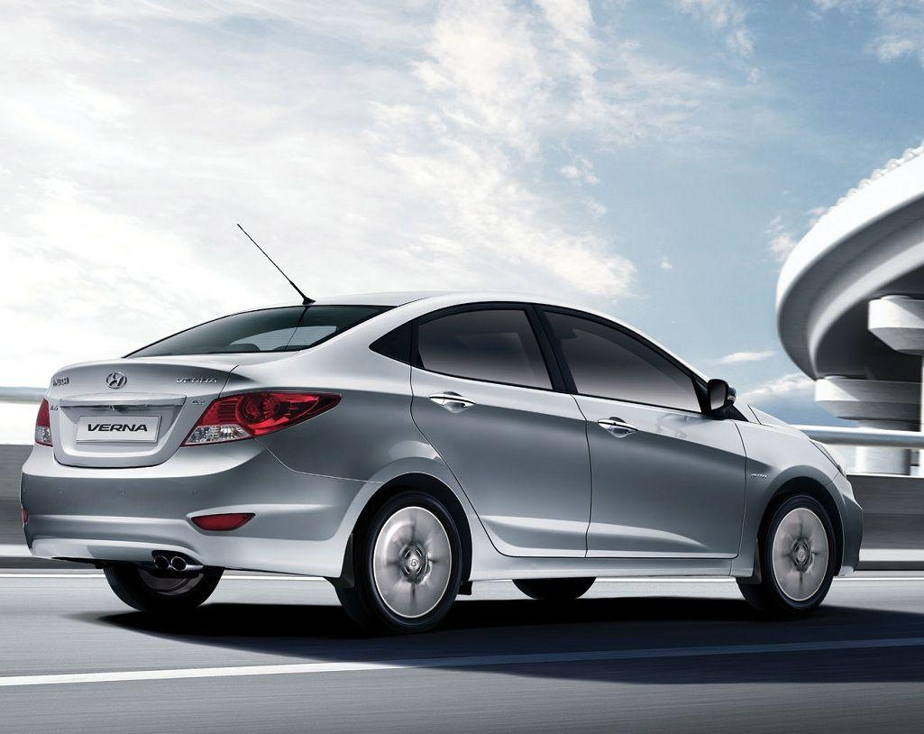 Hyundai Verna – pictures, information and specs