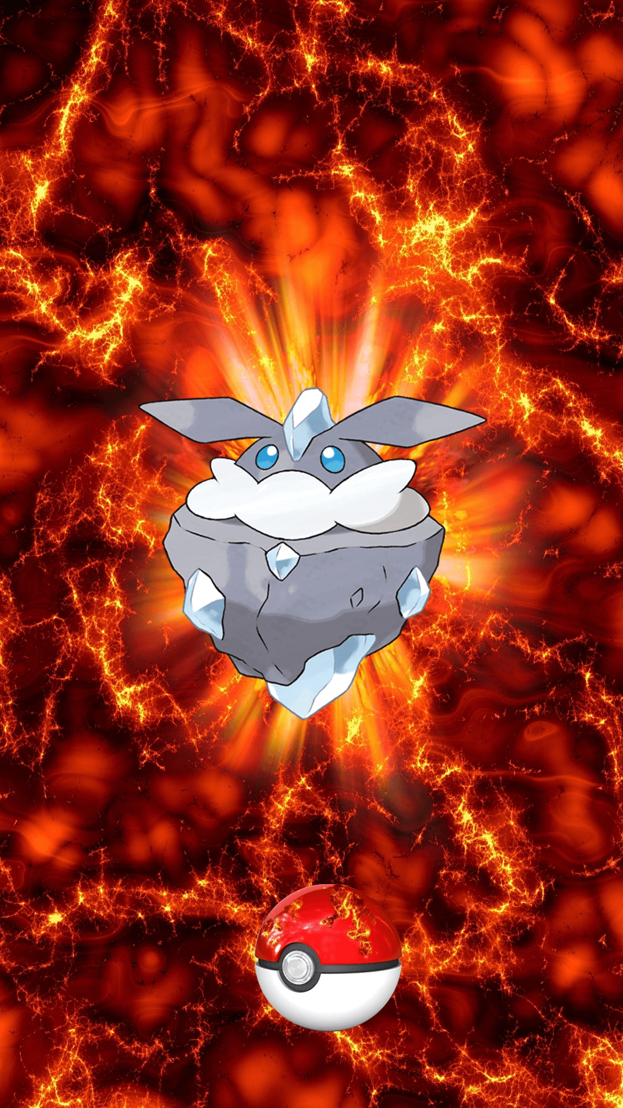 703 Fire Pokeball Carbink Melecie 160 Egg | Wallpaper