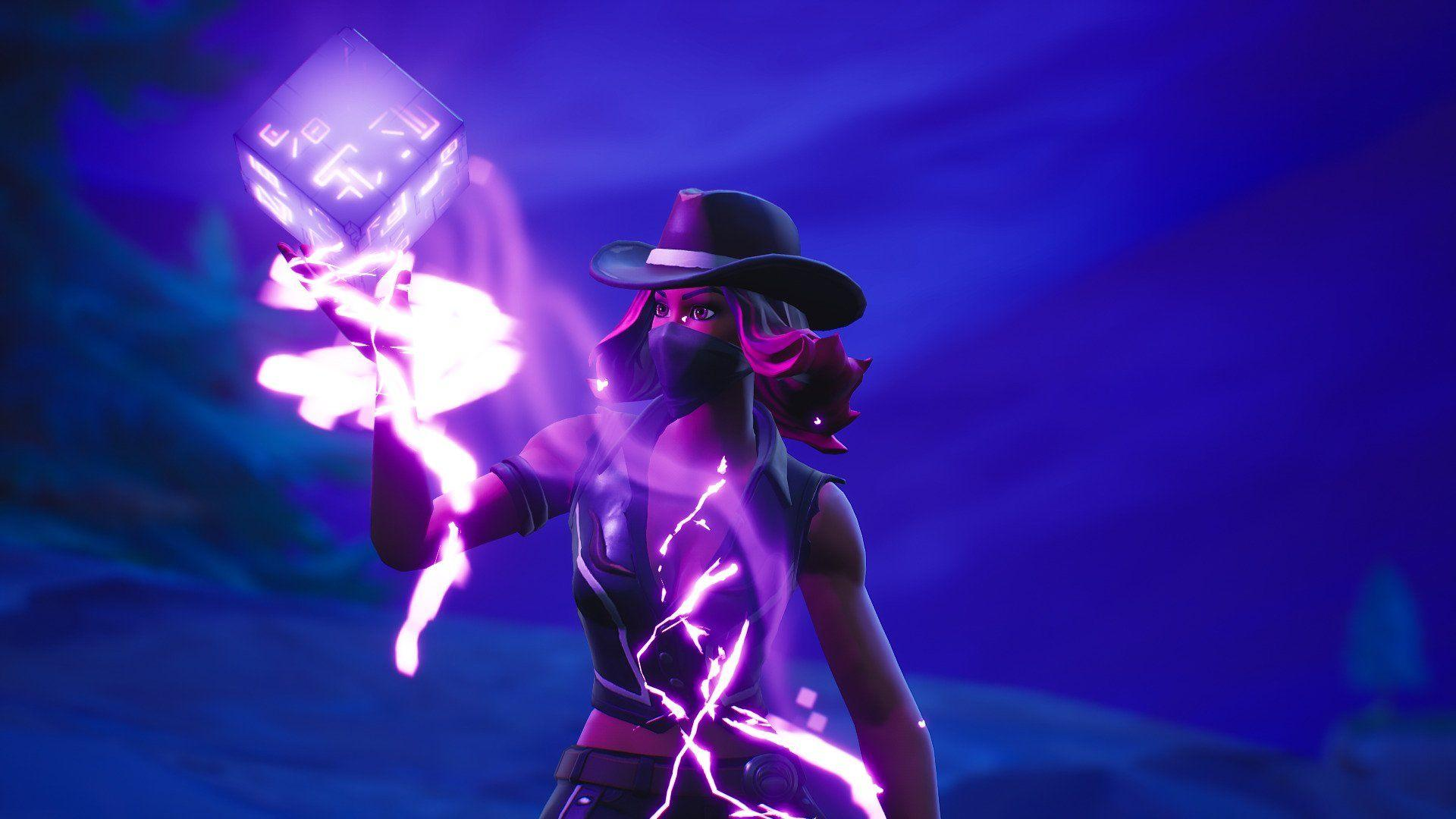 Calamity & Fortnite Cube by Davidbellver #4291 Wallpapers and Free ...