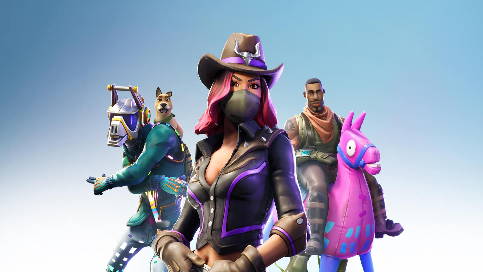 Season 6 'DJ, Calamity and Giddy Up' Wallpaper 1920x1080 : FortNiteBR