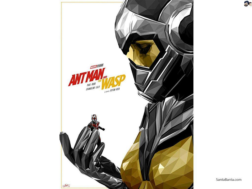 Ant Man and the Wasp Movie Wallpapers