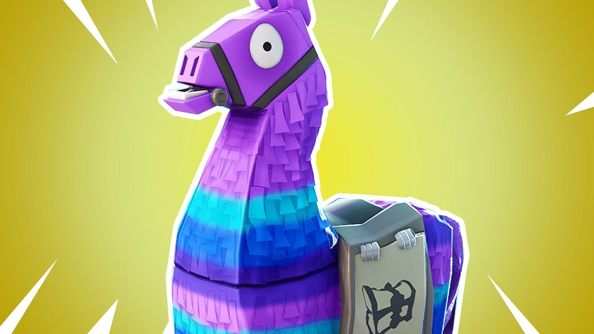 Fortnite Llama Wallpapers 4k Hd PC Iphone Android