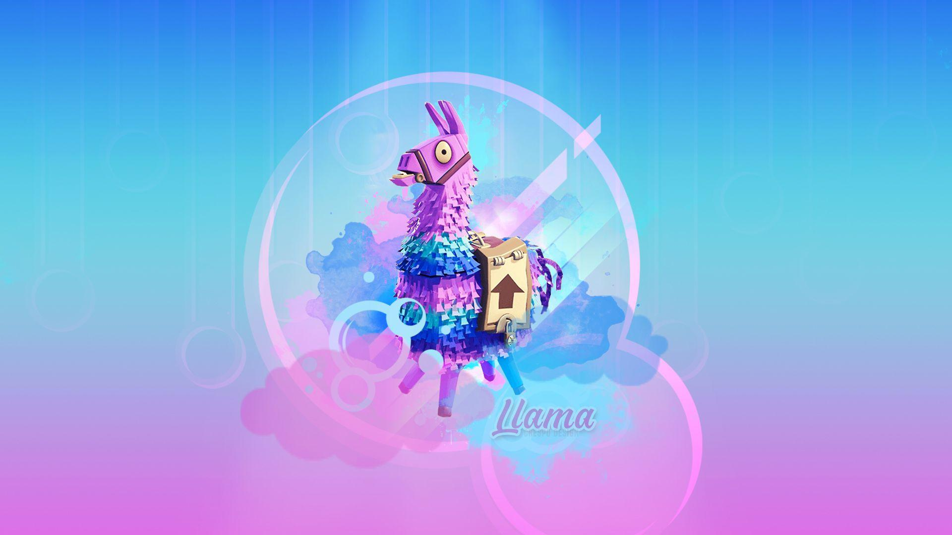 llama fortnite battle royale by cre5po Wallpapers and Free