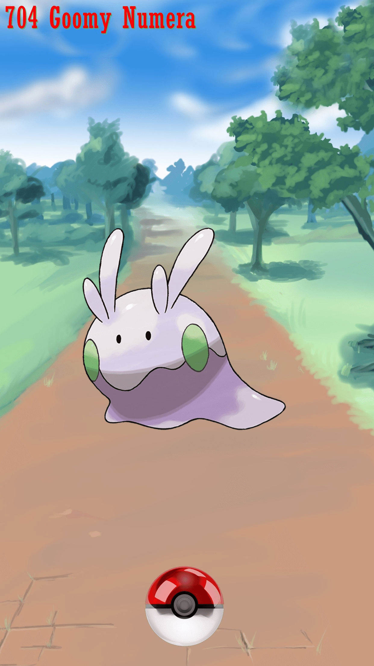 704 Street Pokeball Goomy Numera | Wallpaper