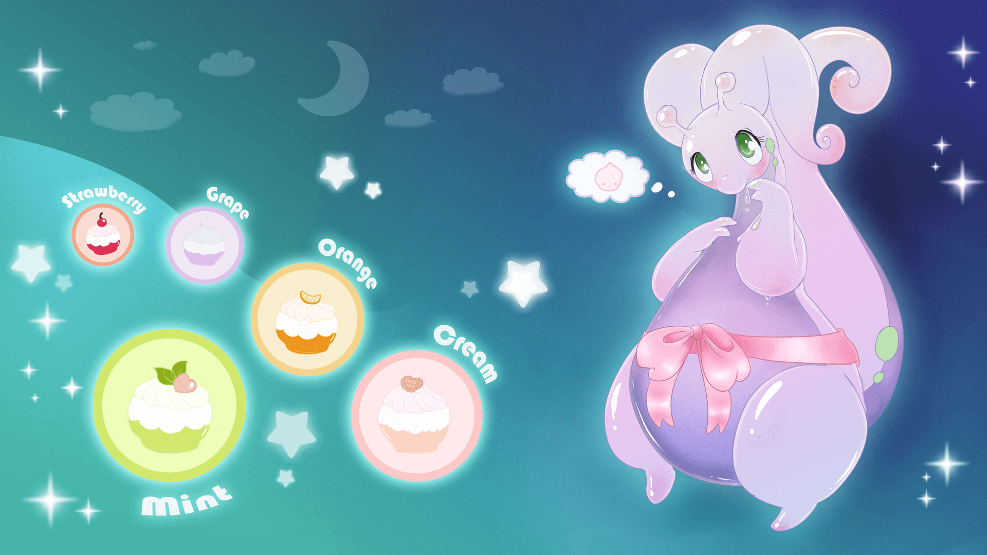 Goodra and PokePuffs ♥ by black_kitty -- Fur Affinity [dot] net