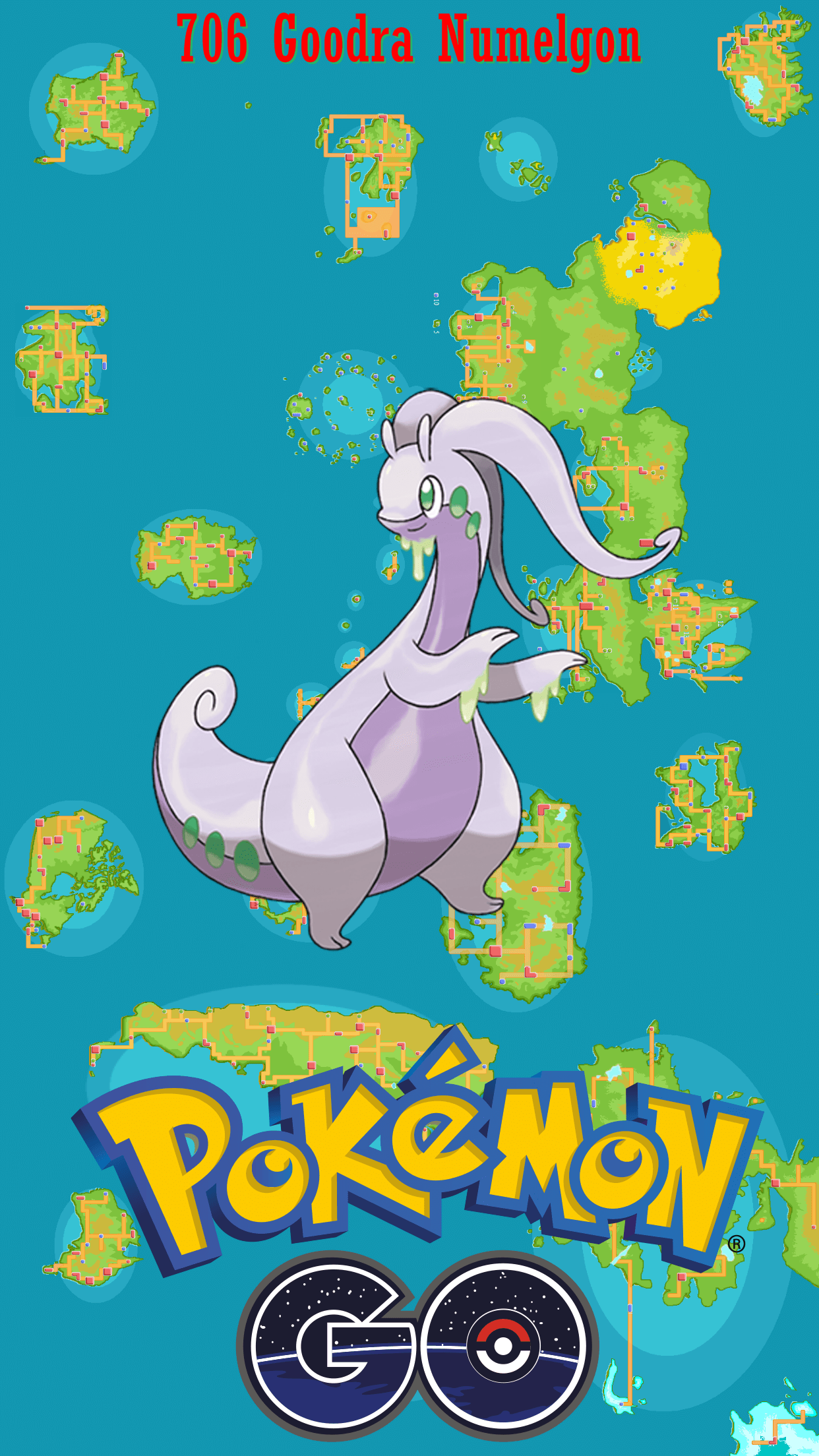 706 Goodra Numelgon (3) | Wallpaper