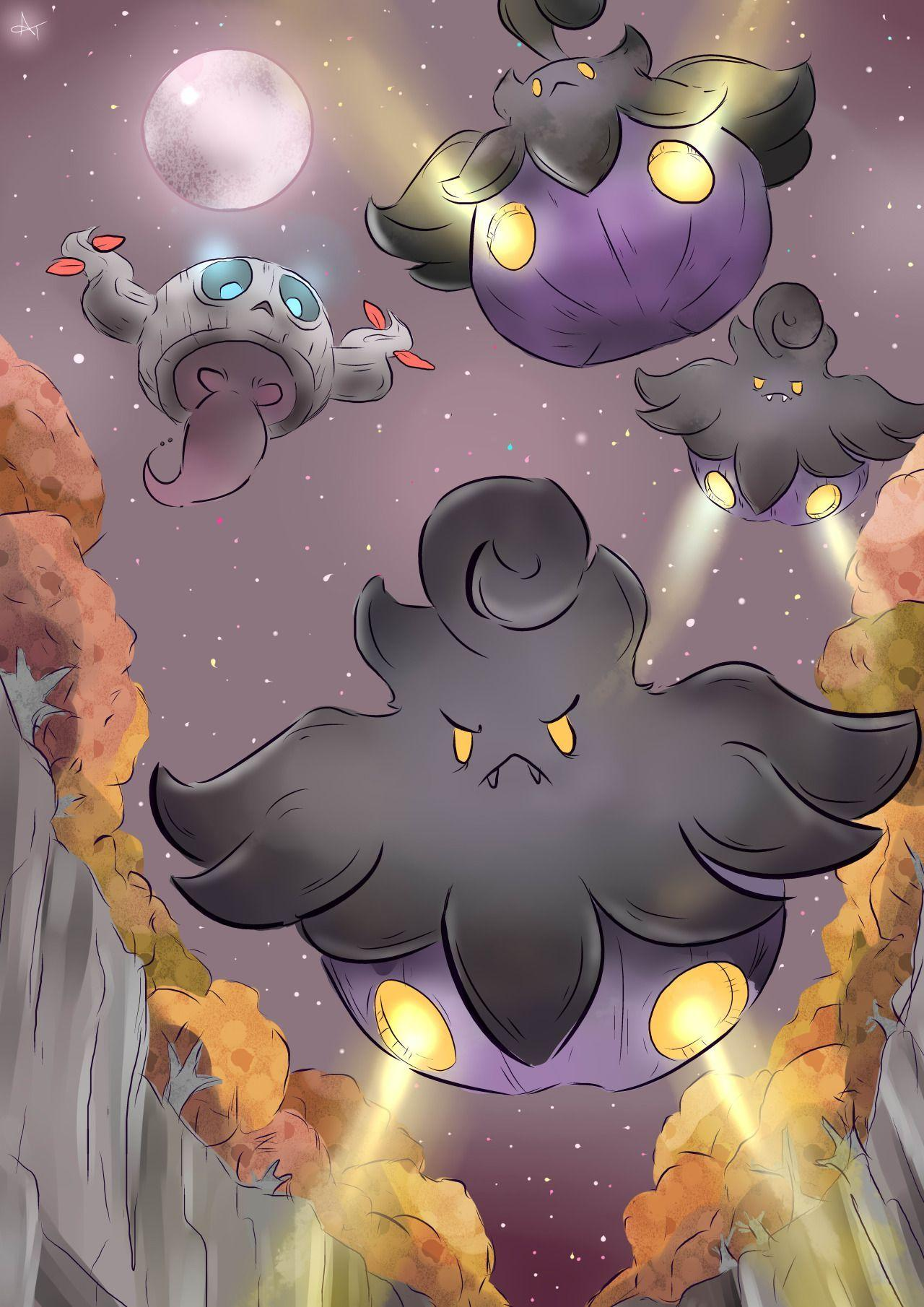 Pokemon | Shiny Pumpkaboo and Phantump | Pokemon | Pinterest | Shiny ...