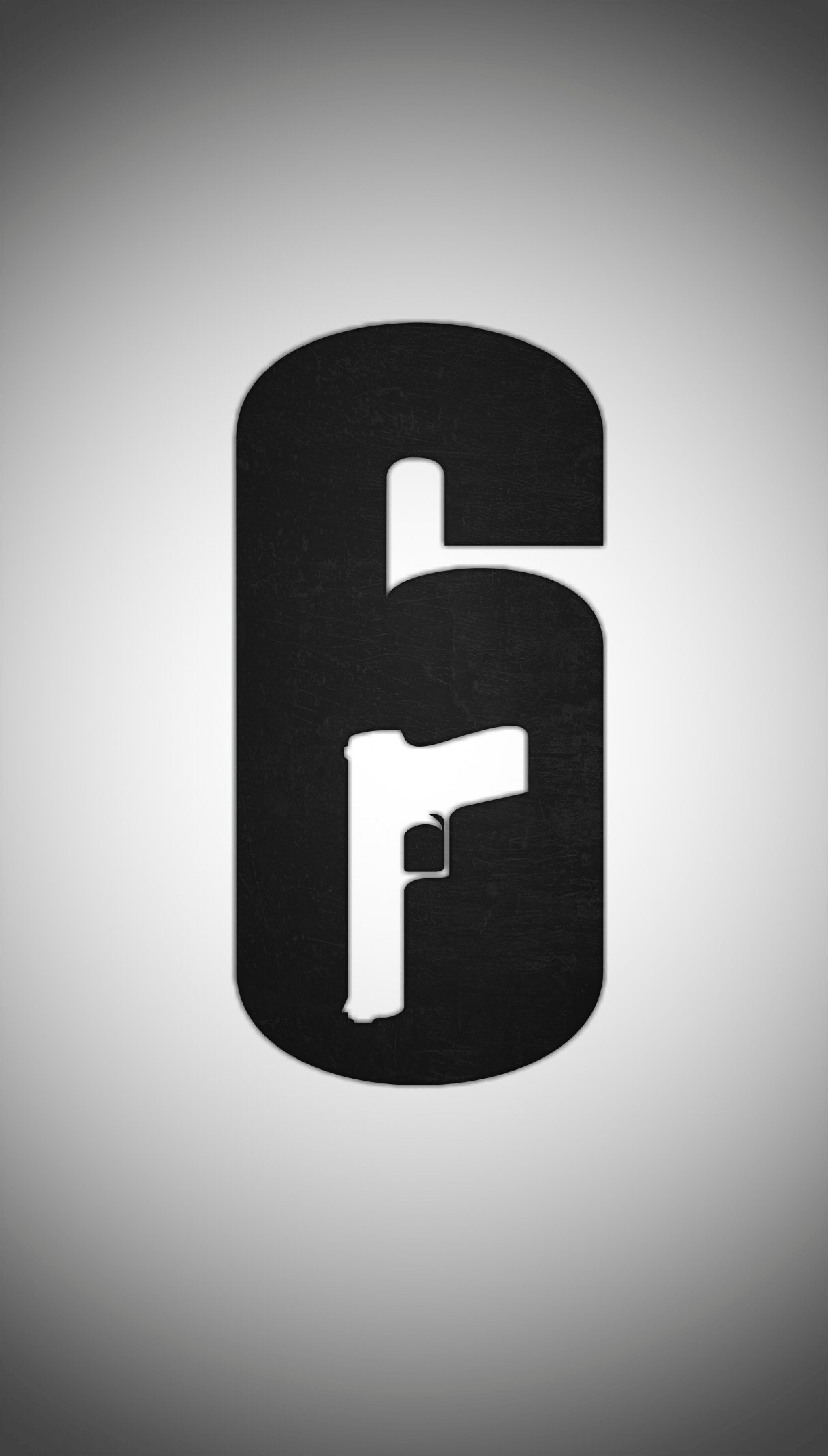 Rainbow Six Siege Logo Phone Wallpapers Wallpaper Cave