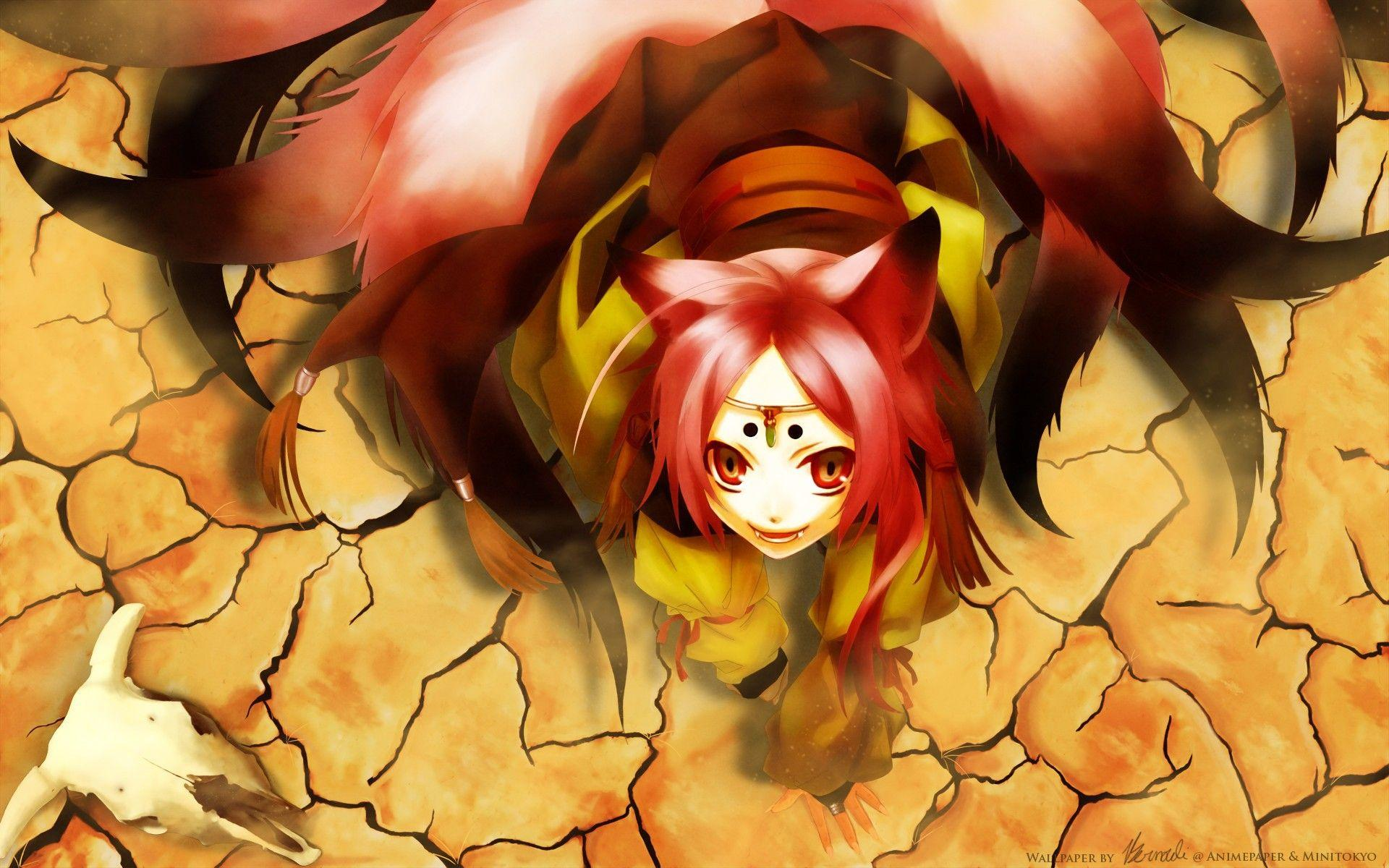 Fox Anime Wallpapers Wallpaper Cave