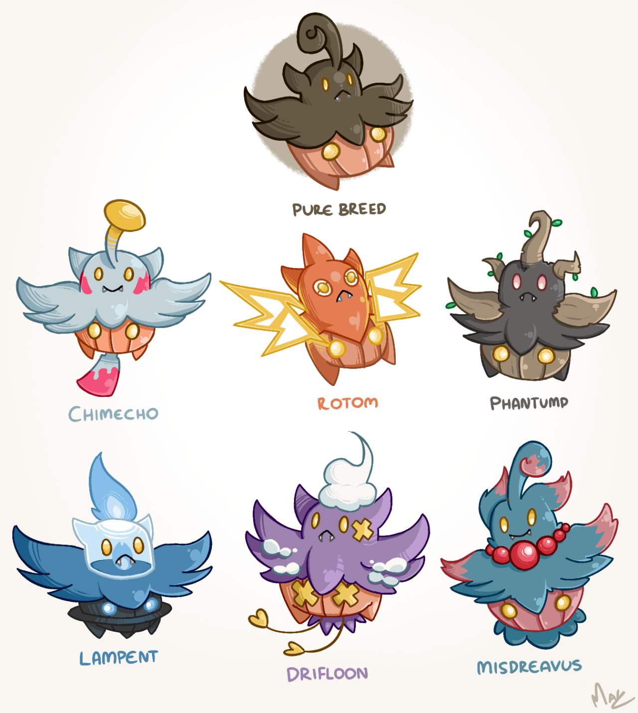 I did a pumpkaboo one too! I love doing these,... - Magz Art Blog ...