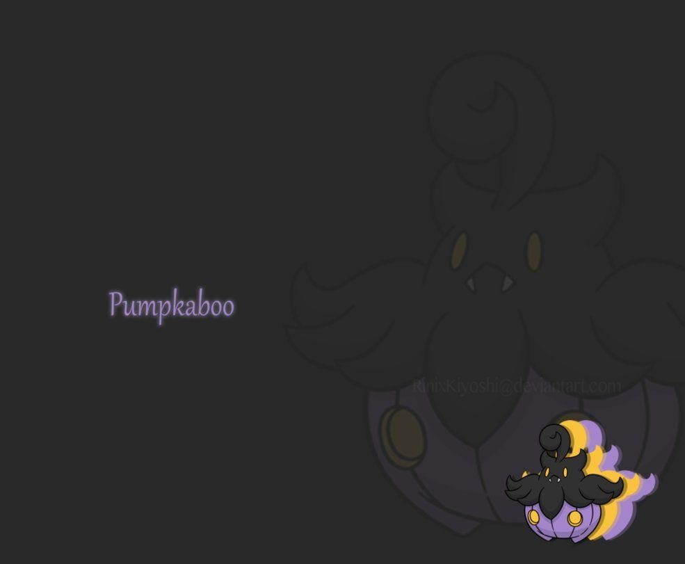 Shiny Pumpkaboo Wallpaper by Squidacious on DeviantArt