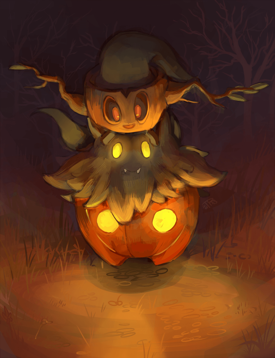 j3rry1ce: More ghost Pokemon! I can imagine that Pumpkaboo and ...