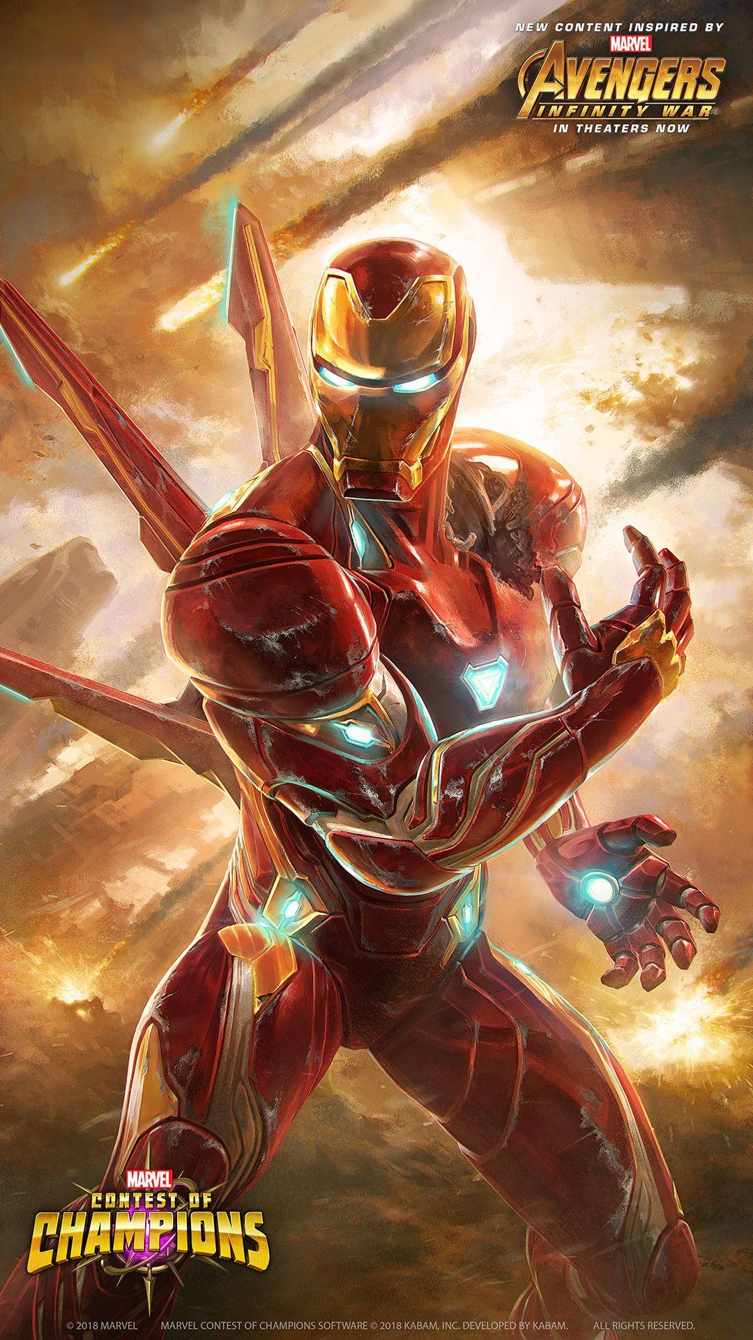 Iron Man Infinity Gauntlet Wallpapers Wallpaper Cave