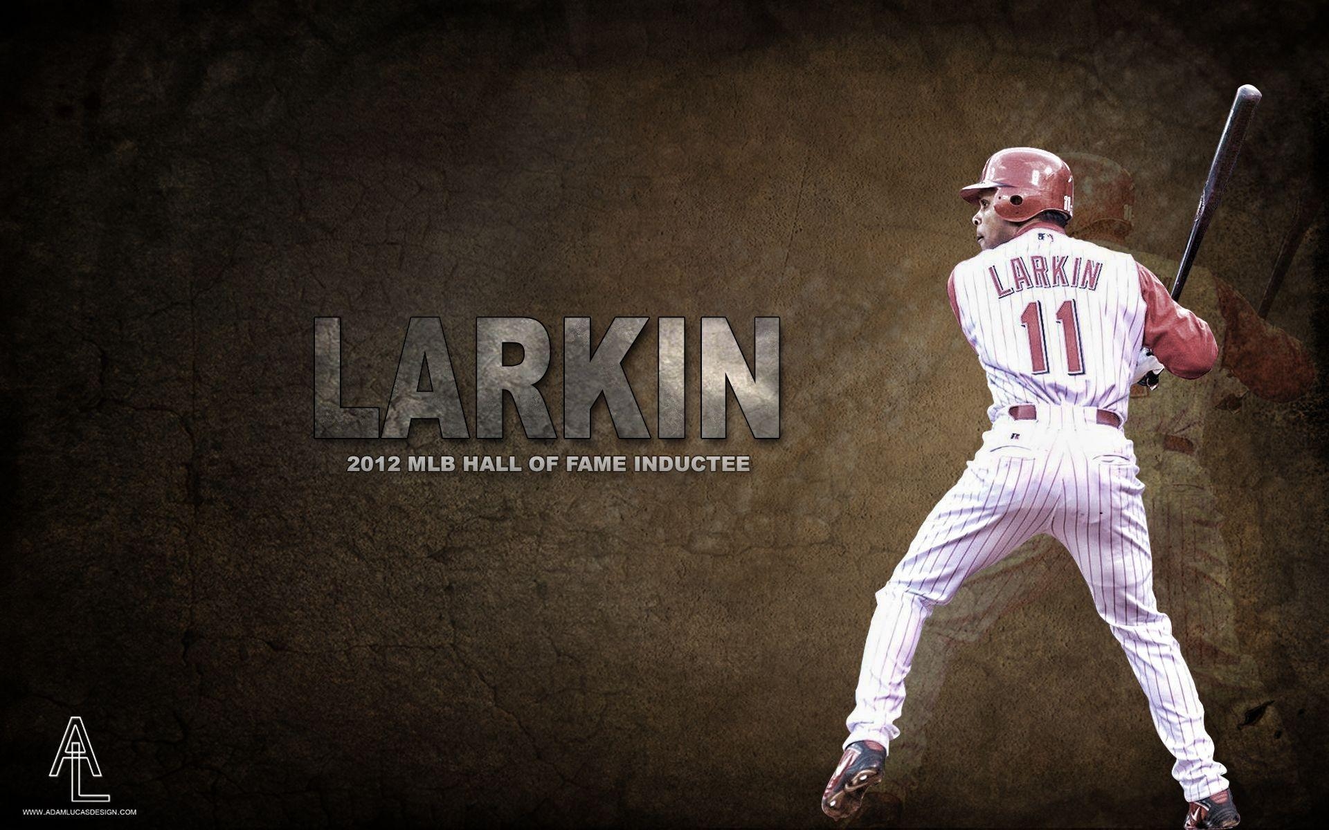 Barry Larkin Hall Of Fame Wallpapers